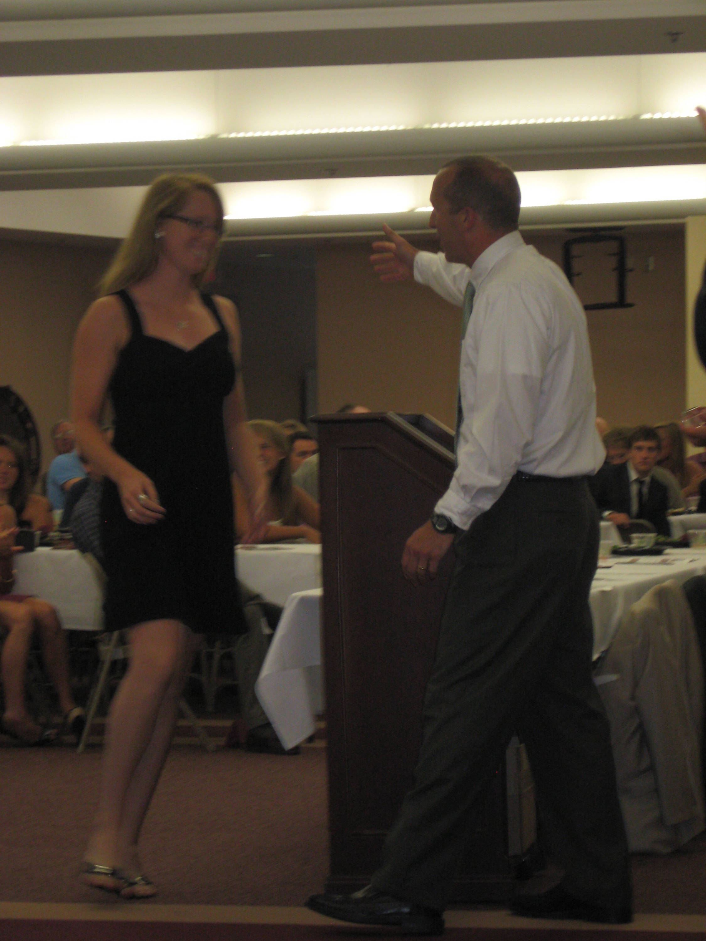 2011 Swimming and Diving Banquet: Jessica Sabotin