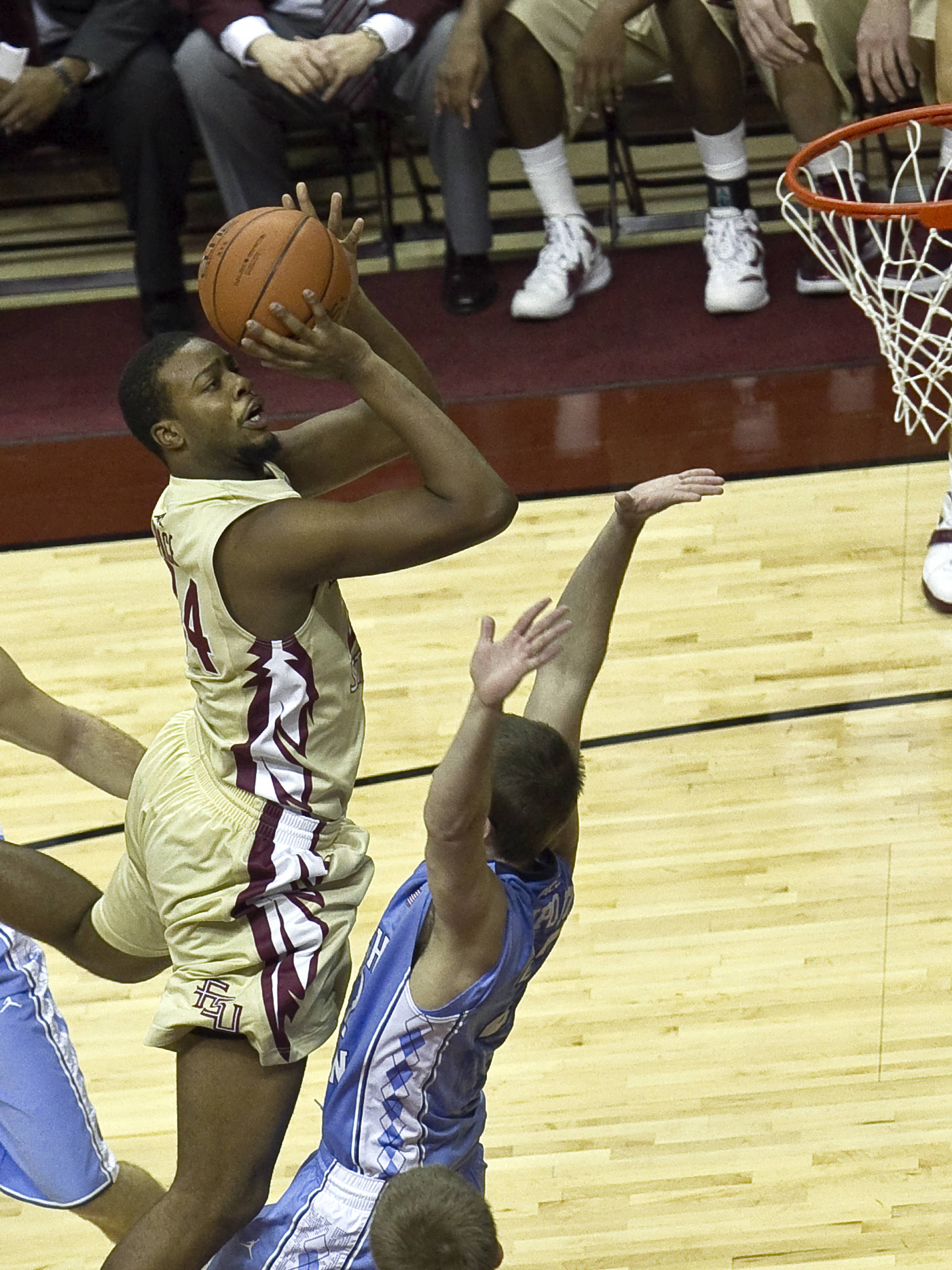 Antwan Space (24), FSU vs NC,  01/14/2012