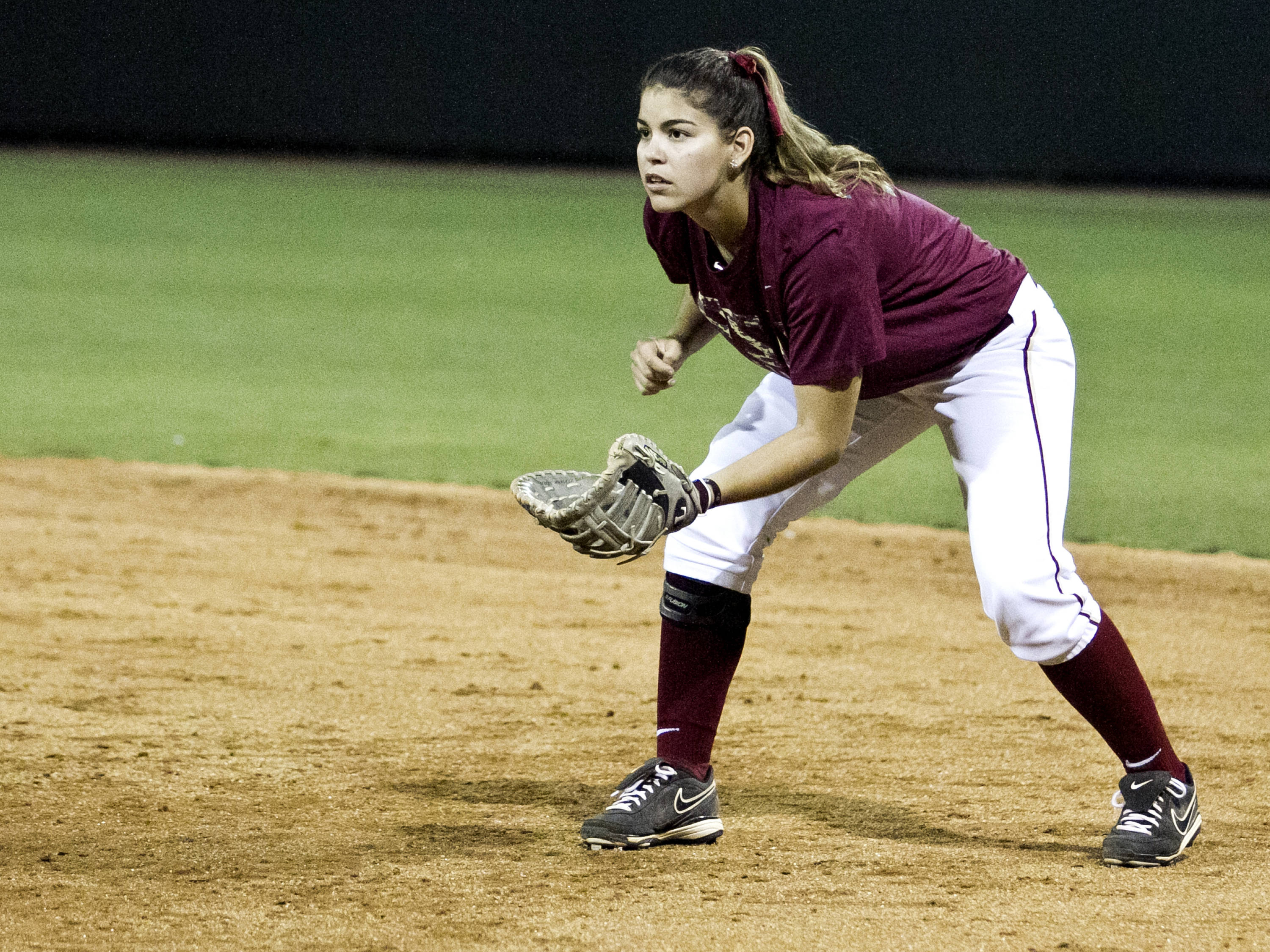 Evelyn Morgado, FSU Softball vs NC,  04/02/2012