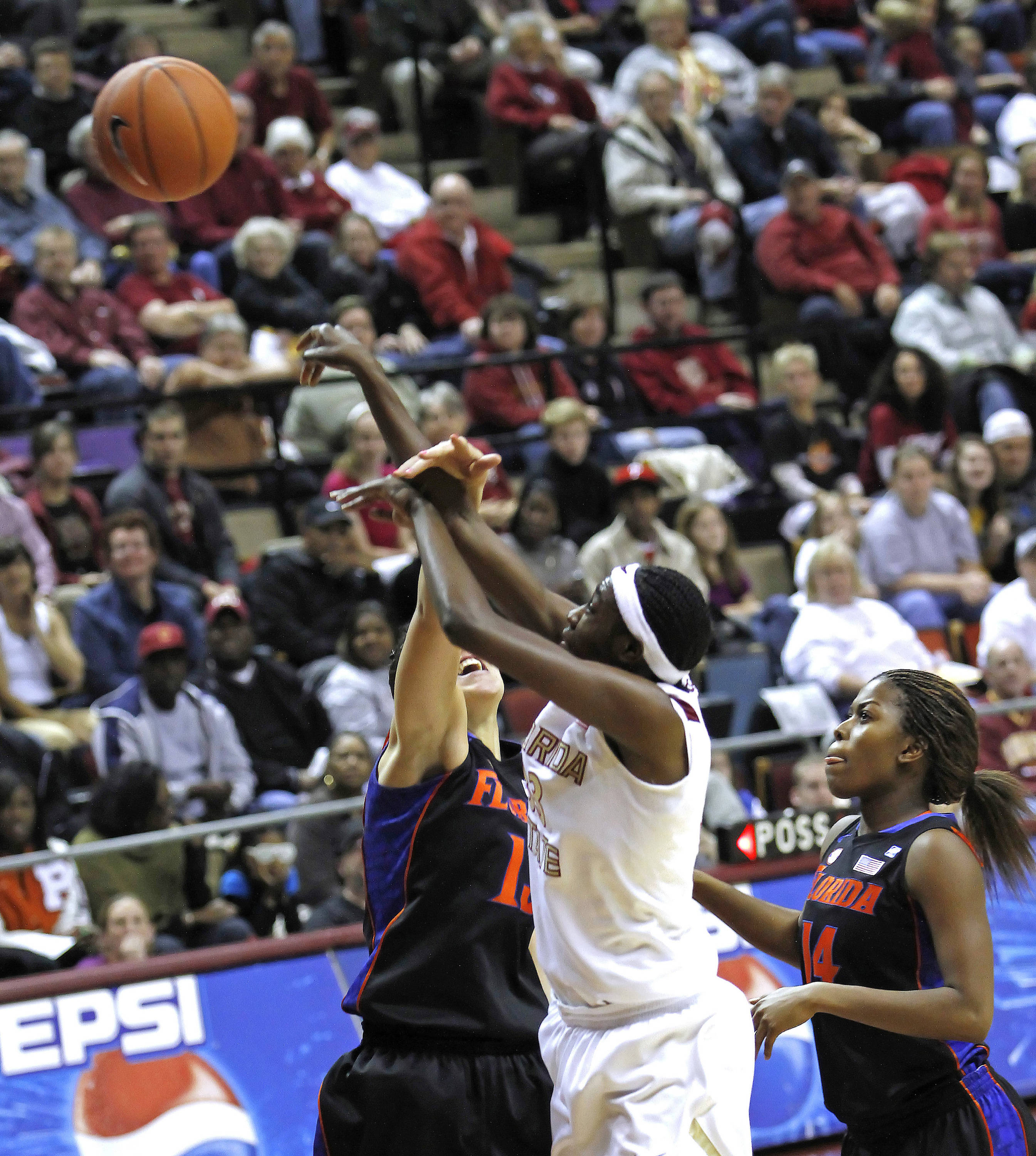 FSU vs Florida 12/28/10 - Natasha Howard (33)#$%^Photo by Steve Musco
