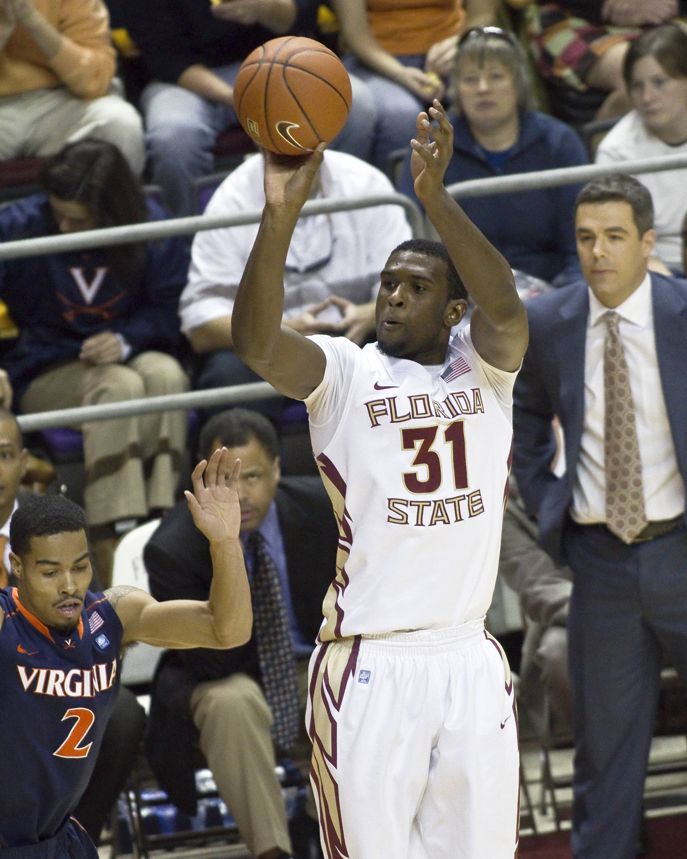 FSU vs Virginia- 02//12/11 - Chris Singleton (31)