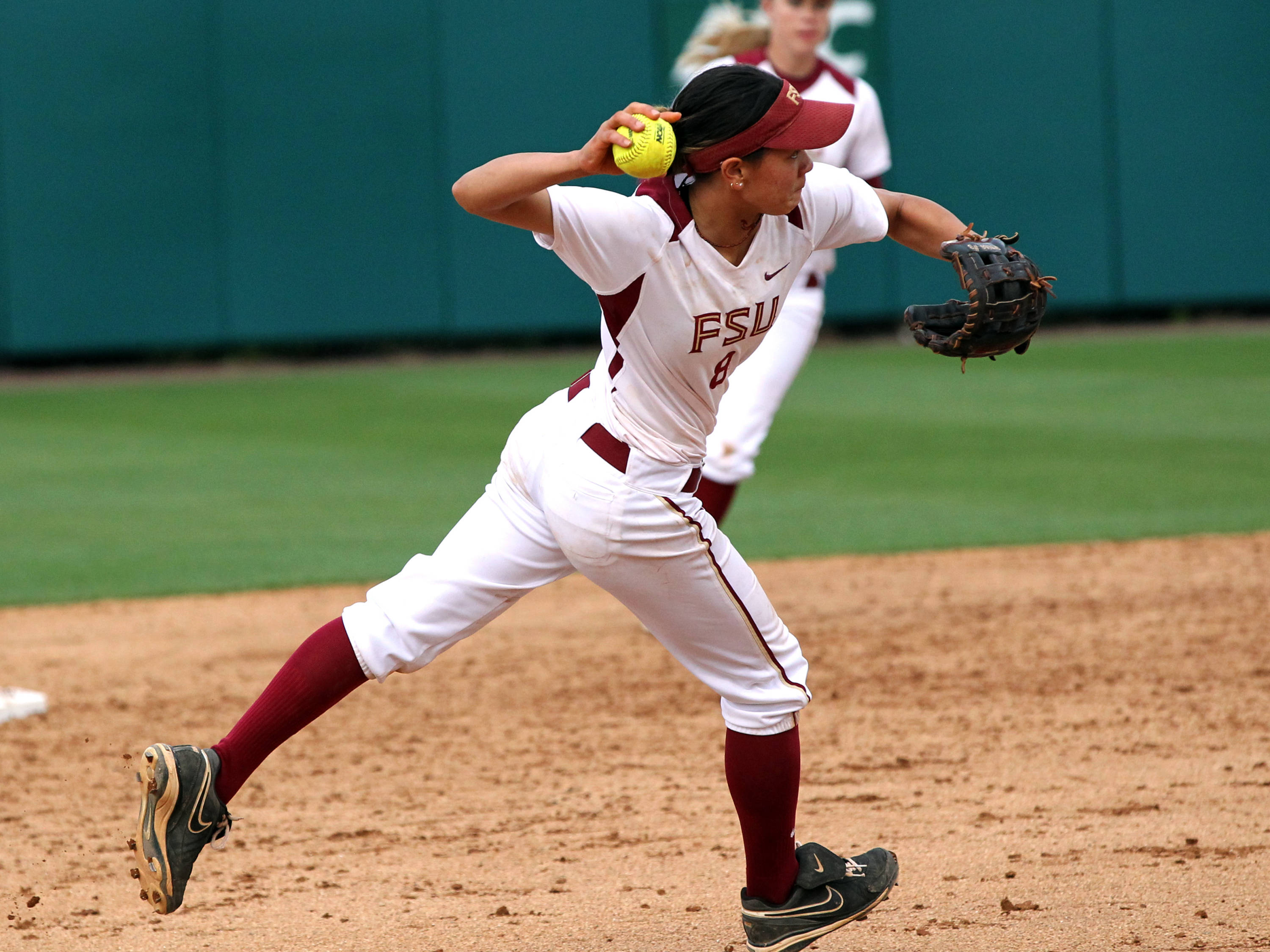 Courtney Senas, FSU VS NC State, ACC Championship Finals, Tallahassee, FL,  05/11/13 . (Photo by Steve Musco)
