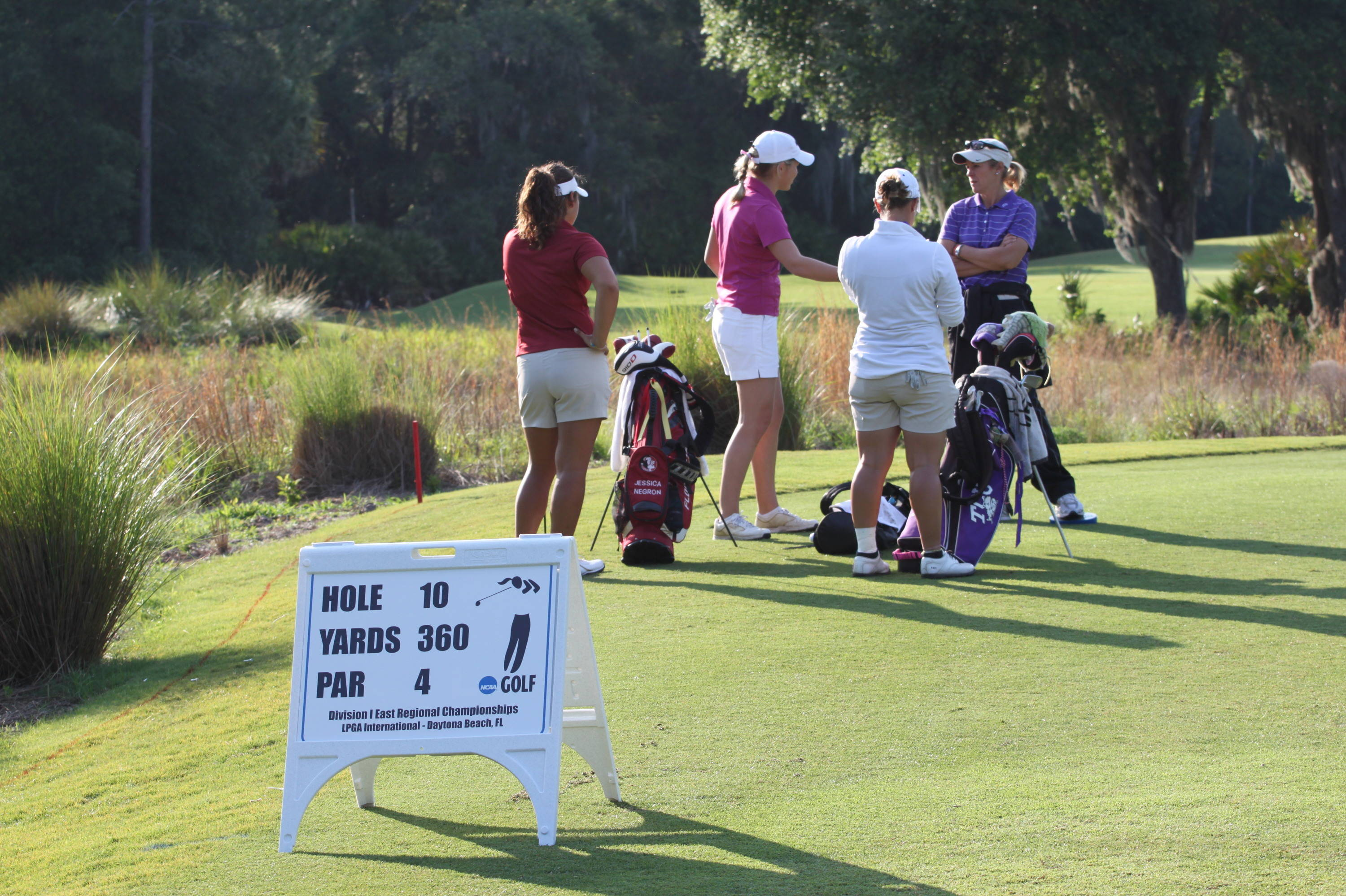 2011 NCAA Golf -- Jessica Negron sets her sights on a regional championship