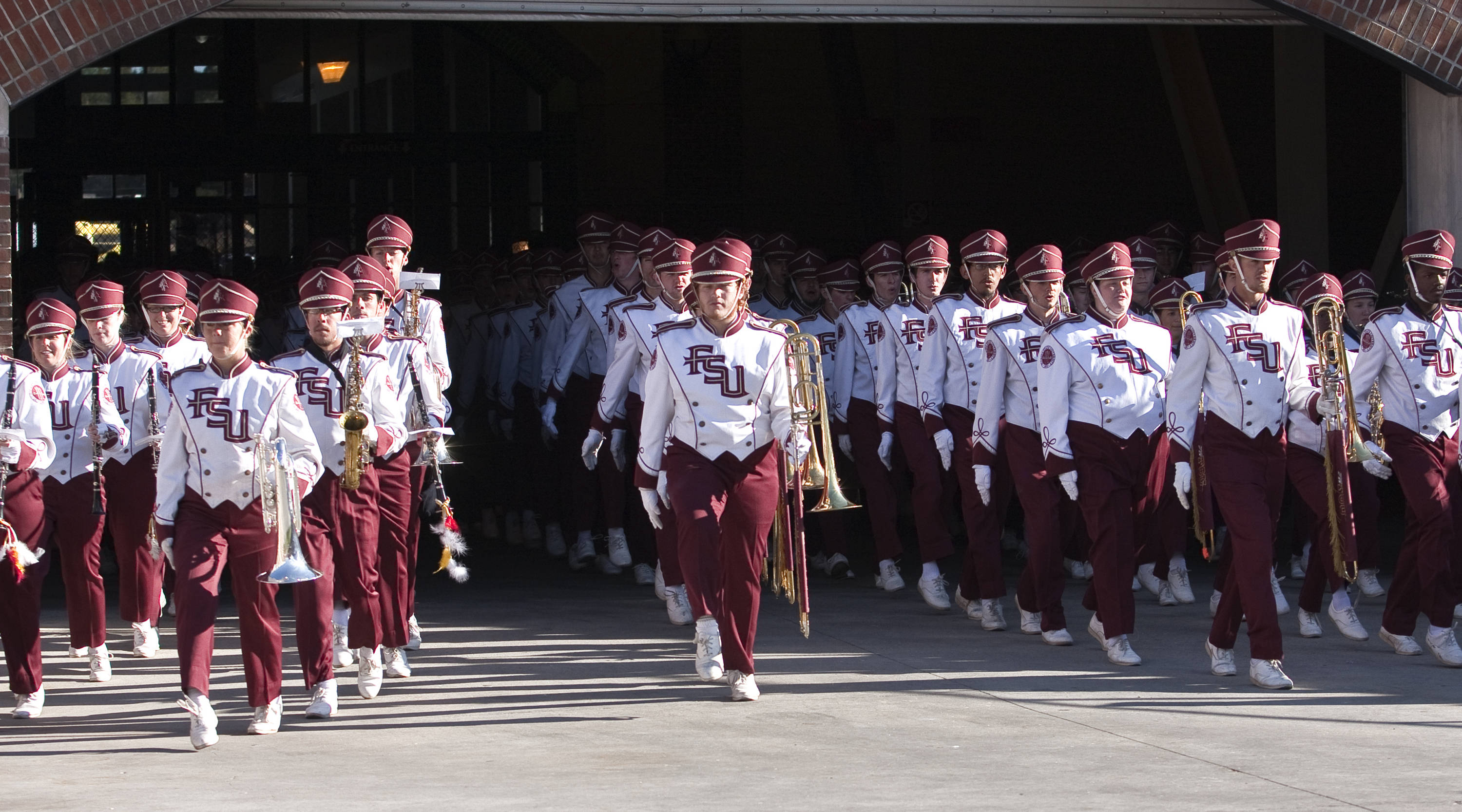 Marching Chiefs, FSU vs Miami, 11/12/2011