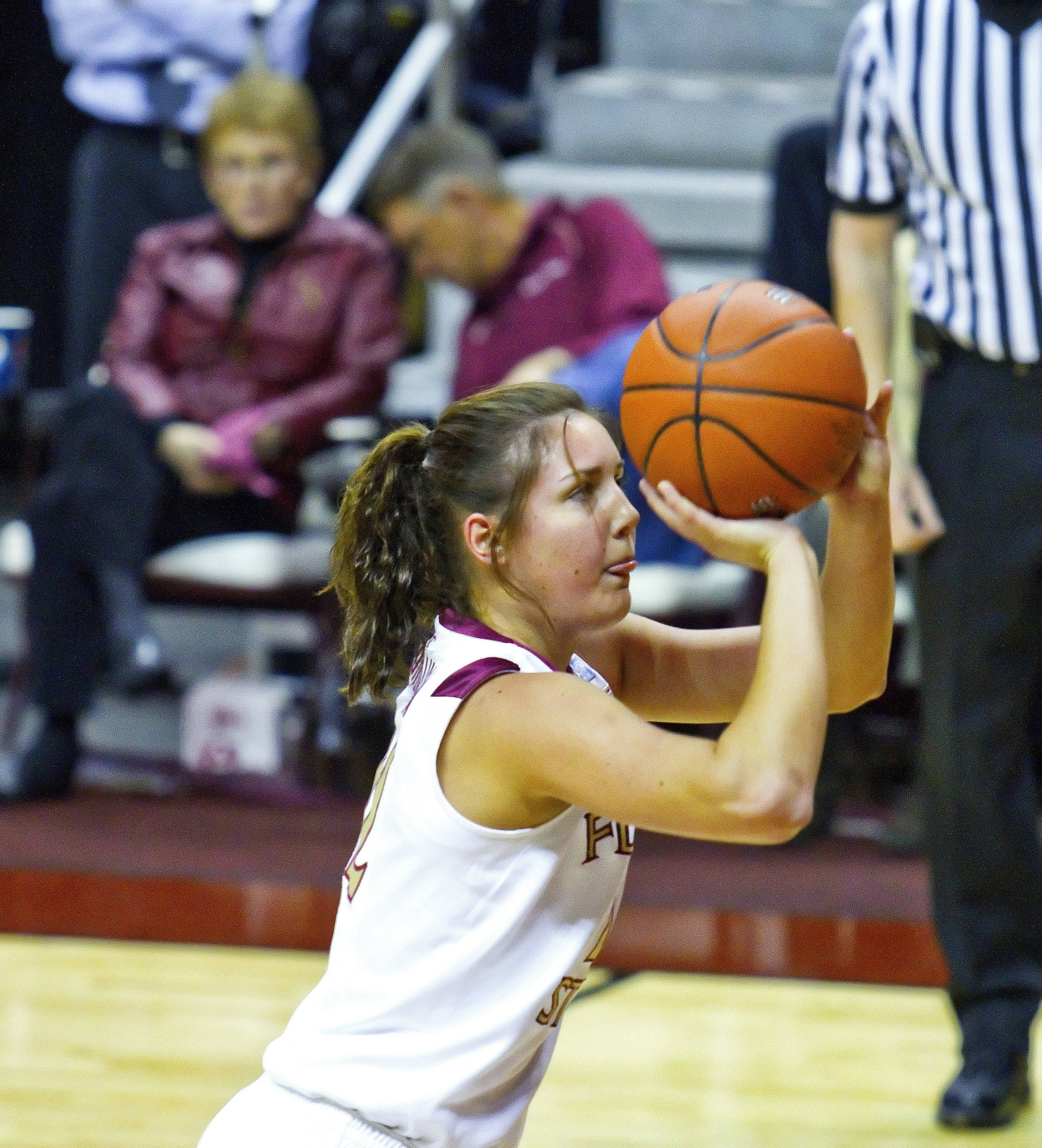 FSU vs Jacksonville State - 12/12/10 - Olivia Bresnahan (22)#$%^Photo by Steve Musco