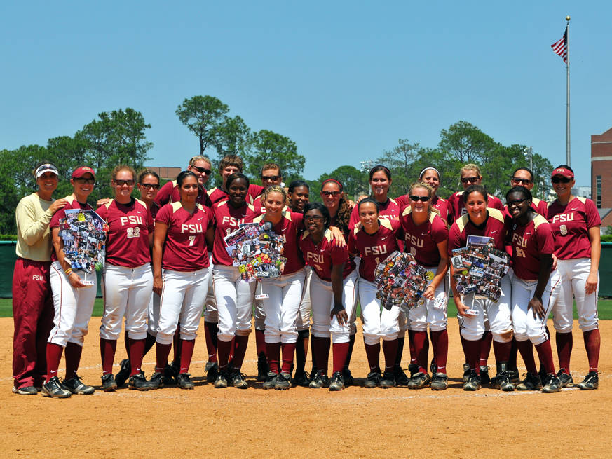 A look at the entire 2010 Florida State softball team.