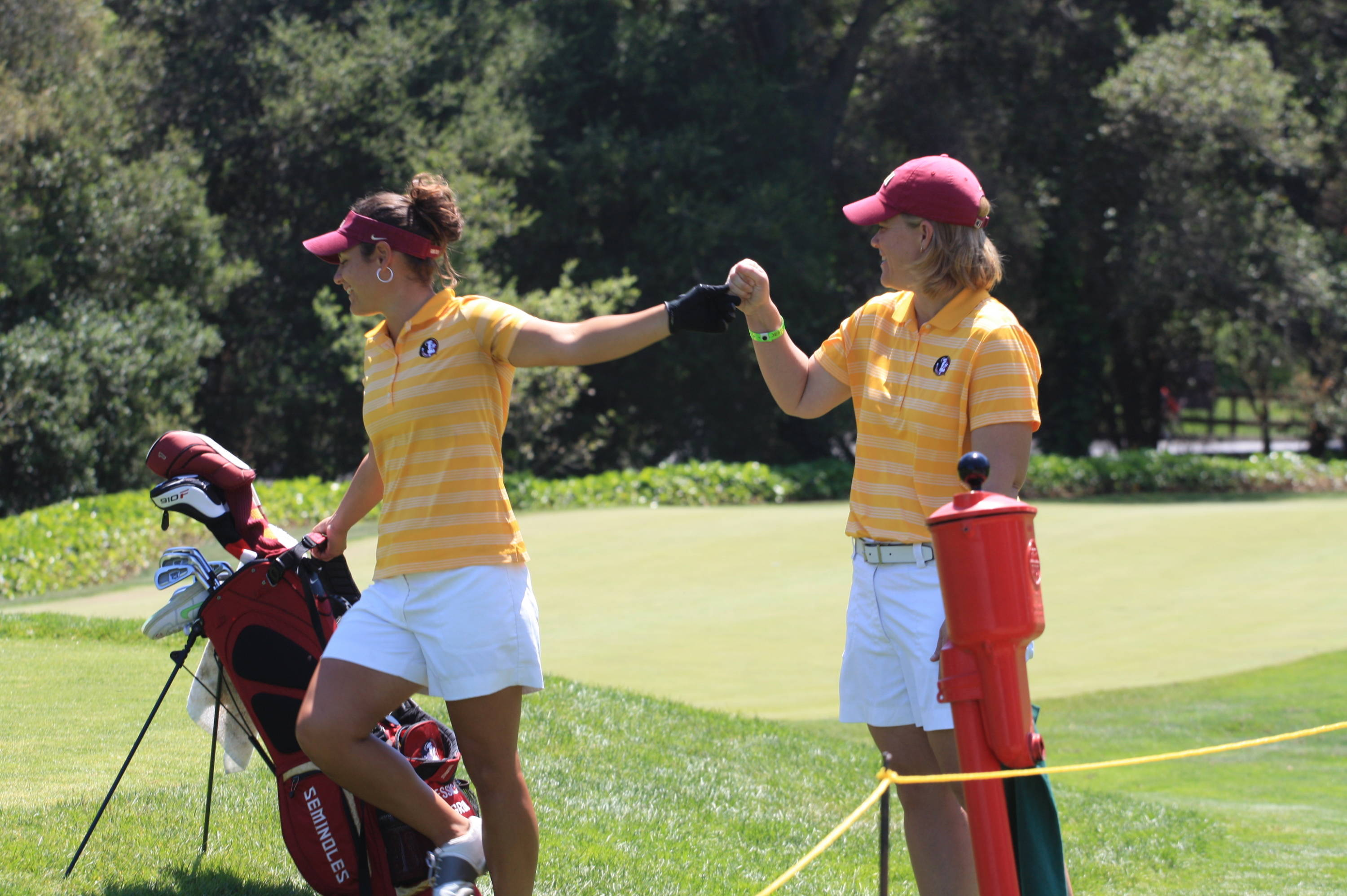 Jessica Negron, Amy Bond -- 2013 NCAA West Regional Championships