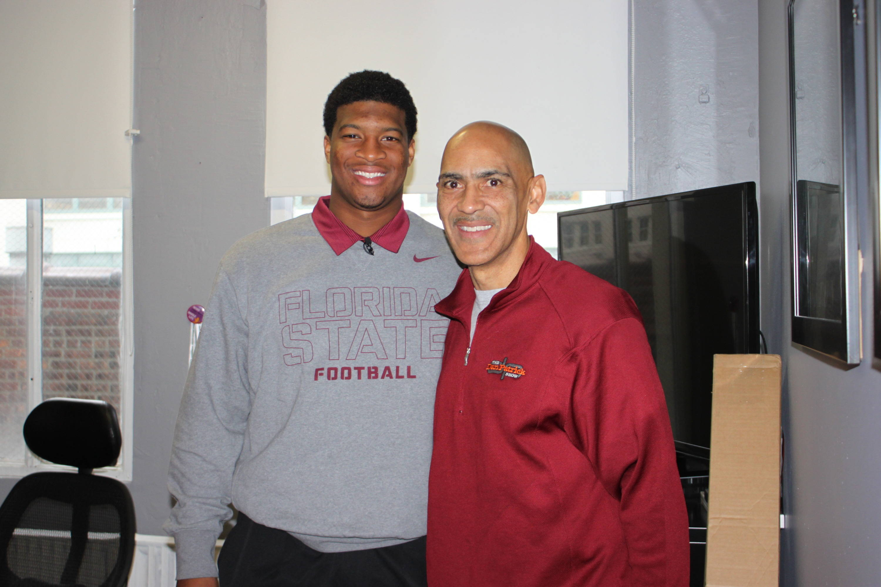 Jameis Winston and Tony Dungy