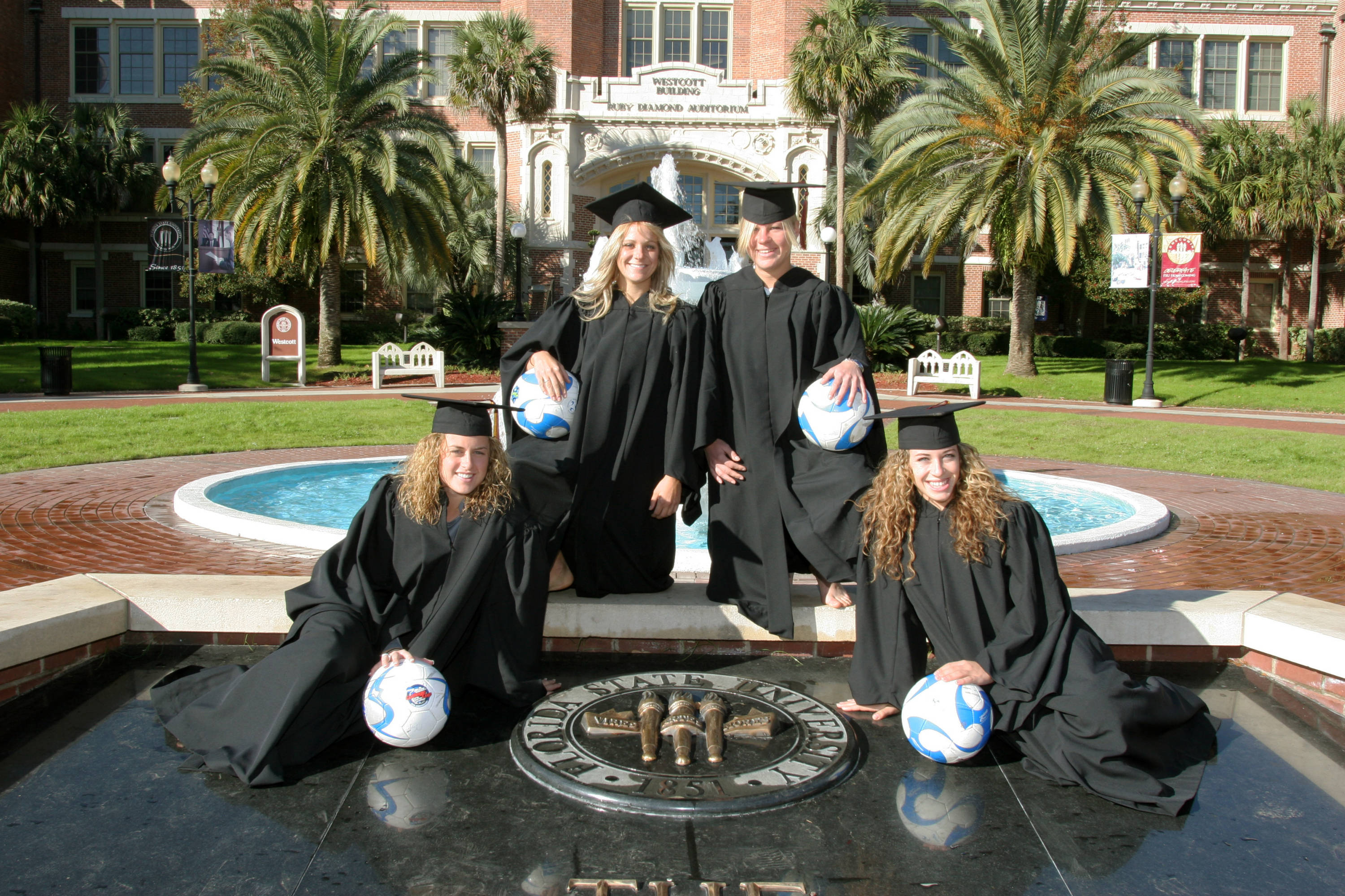 2008 Season- Kate Milstead, Sarah Wagenfuhr, Katrin Schmidt, and Erika Sutton.