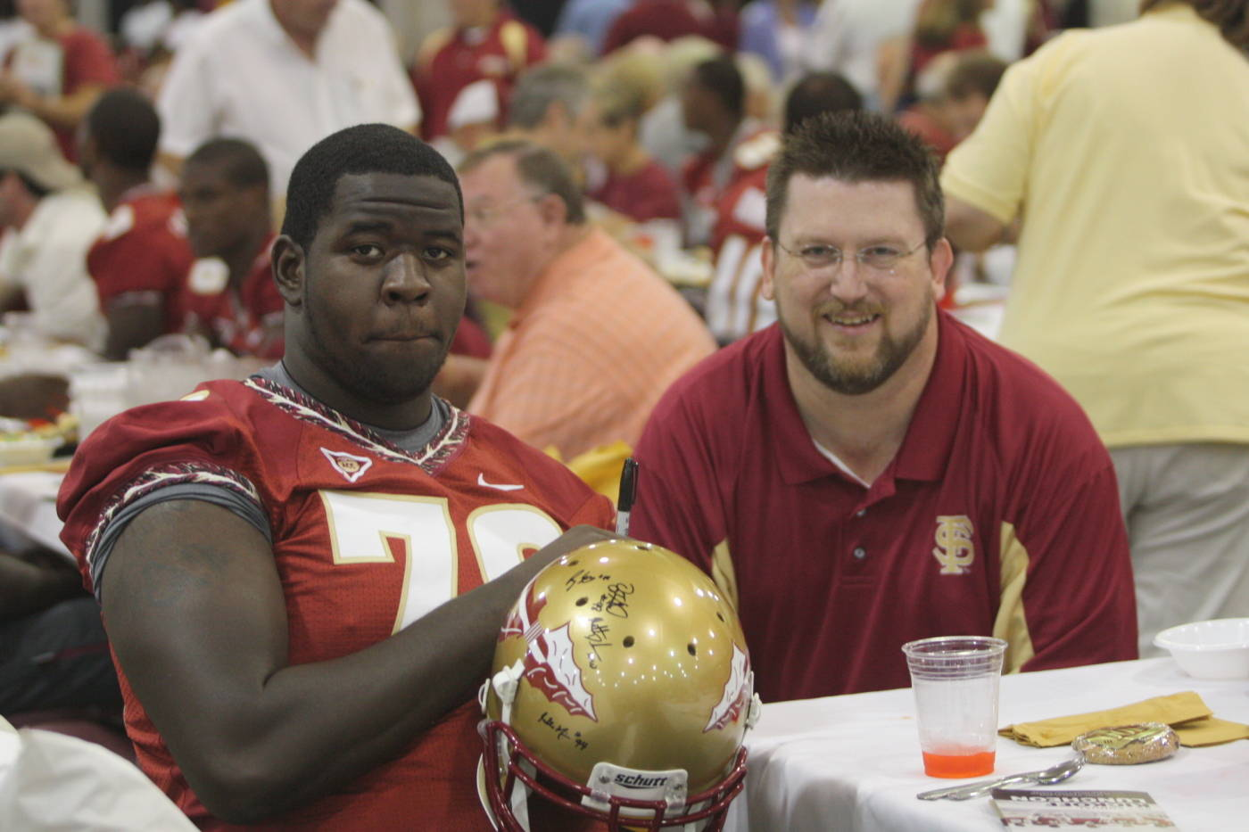 Antwane Greenlee at the 2009 Football Luncheon.