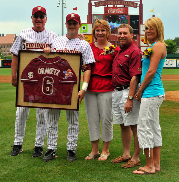 Tommy Oravetz and family