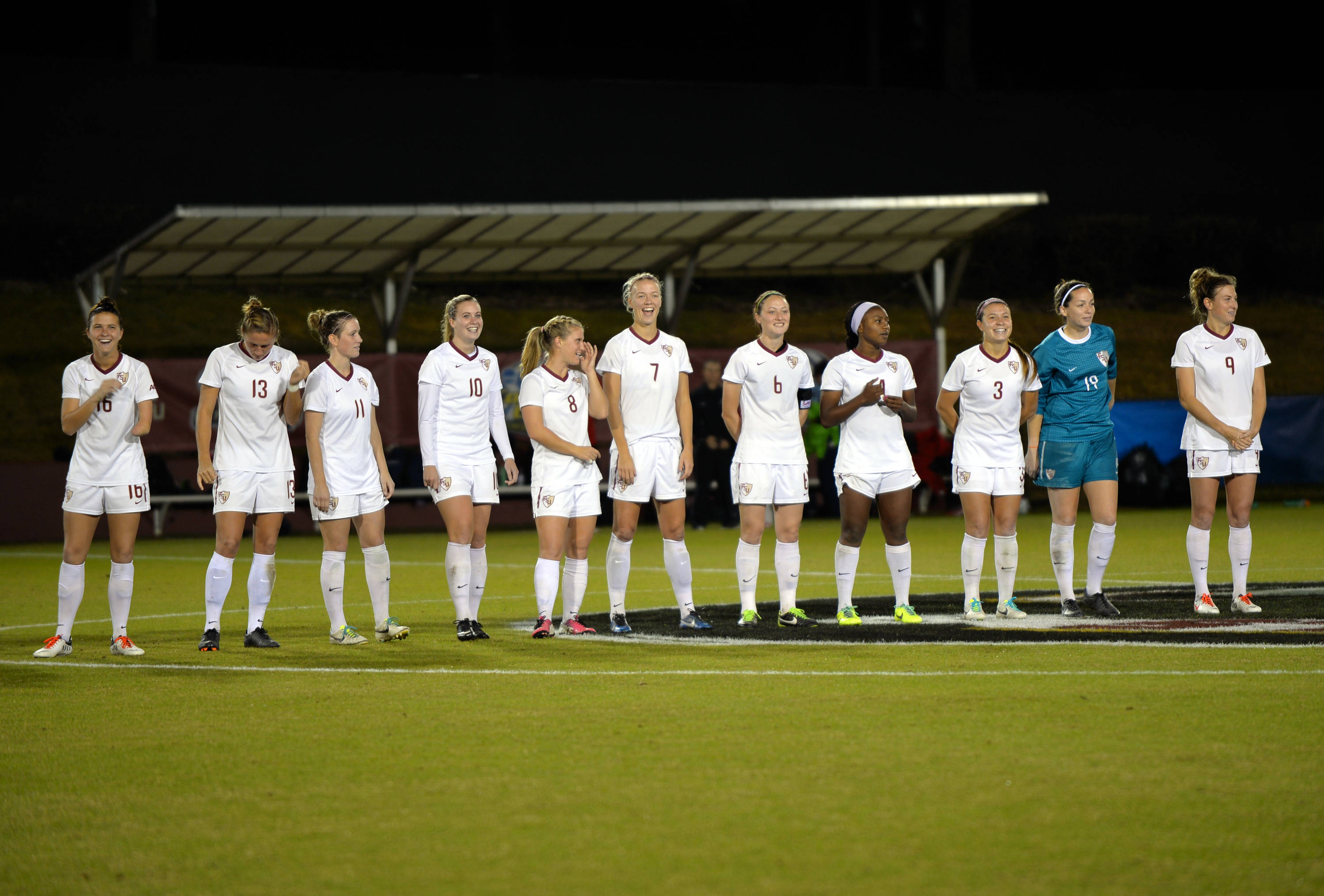 The Seminoles introduced during the first round of the NCAA Tournament against South Alabama
