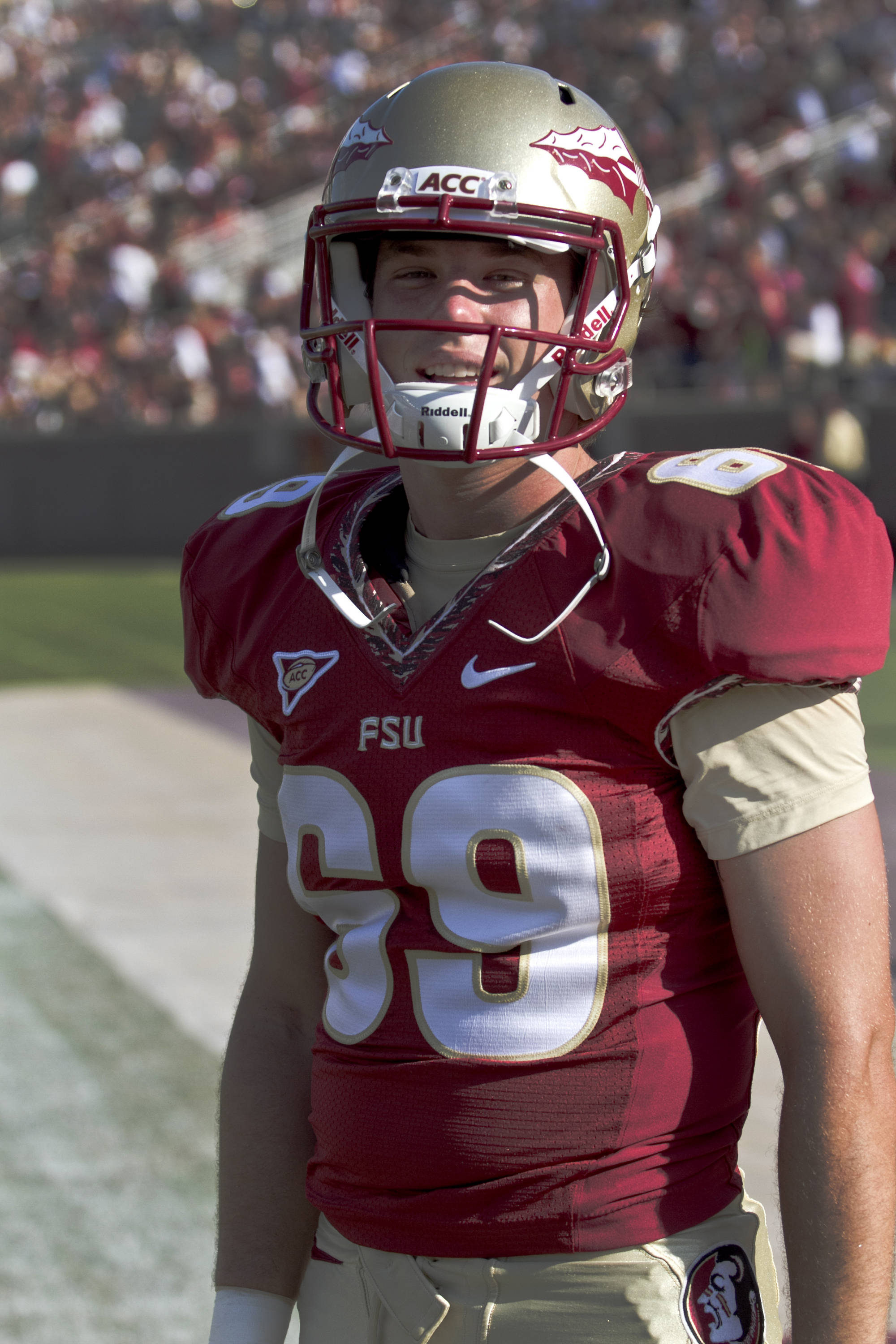 Chris Revell (69),  FSU vs Murray State, 9/1/12 (Steve Musco)