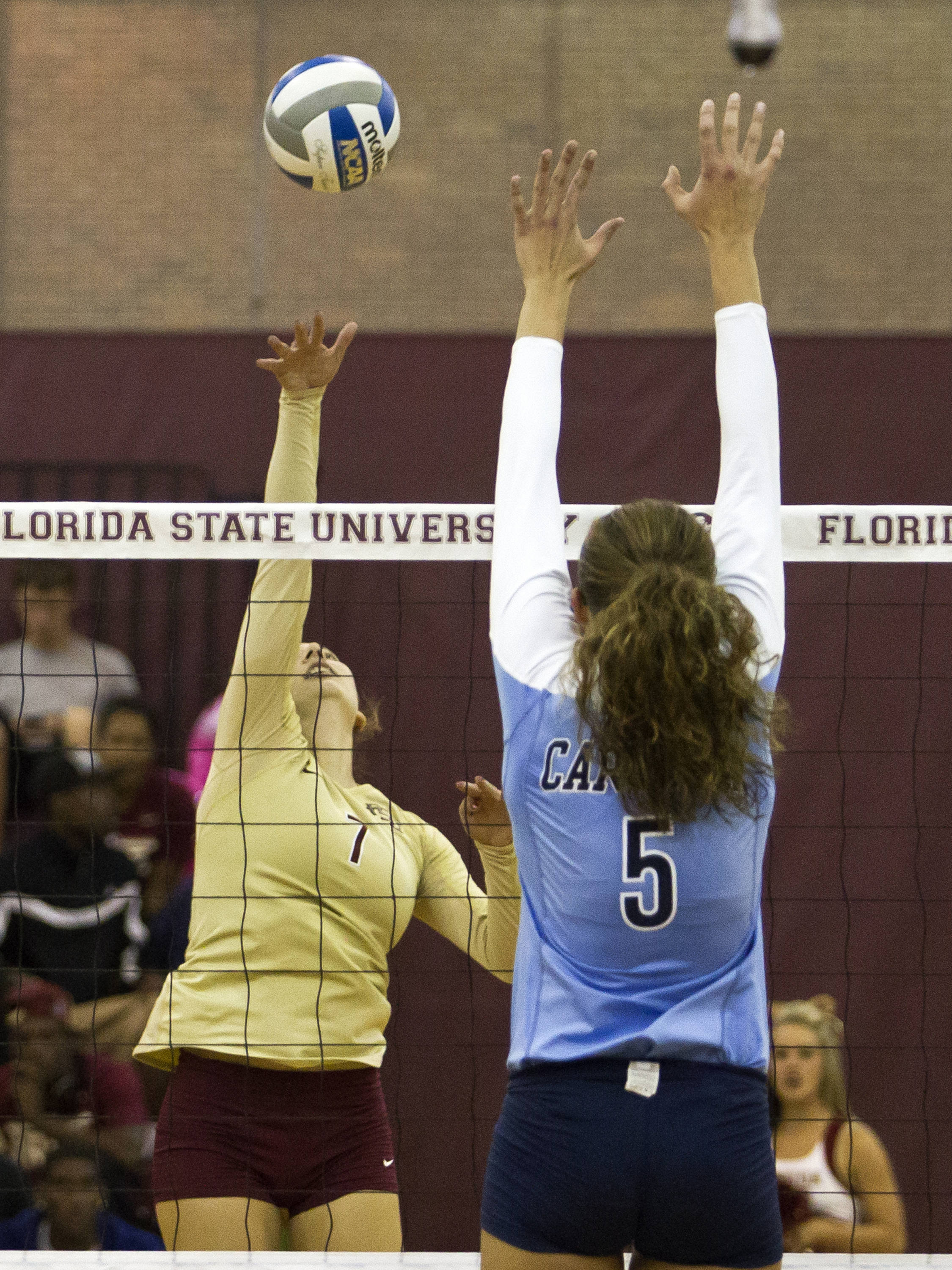 Fatma Yildirim (7), FSU vs NC, 10/05/12 (Photo by Steve Musco)