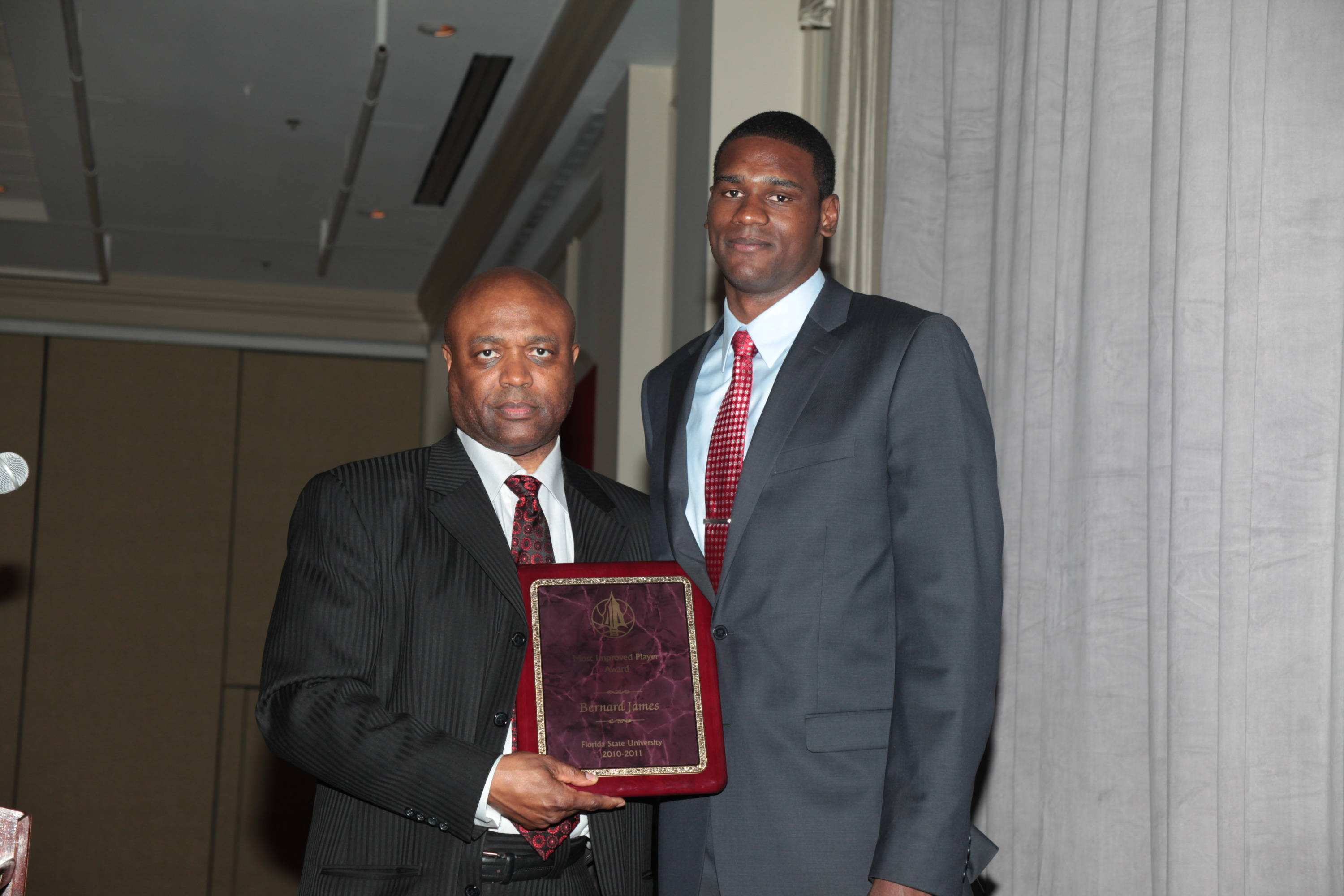 2011 Men's Basketball Banquet - Bernard James