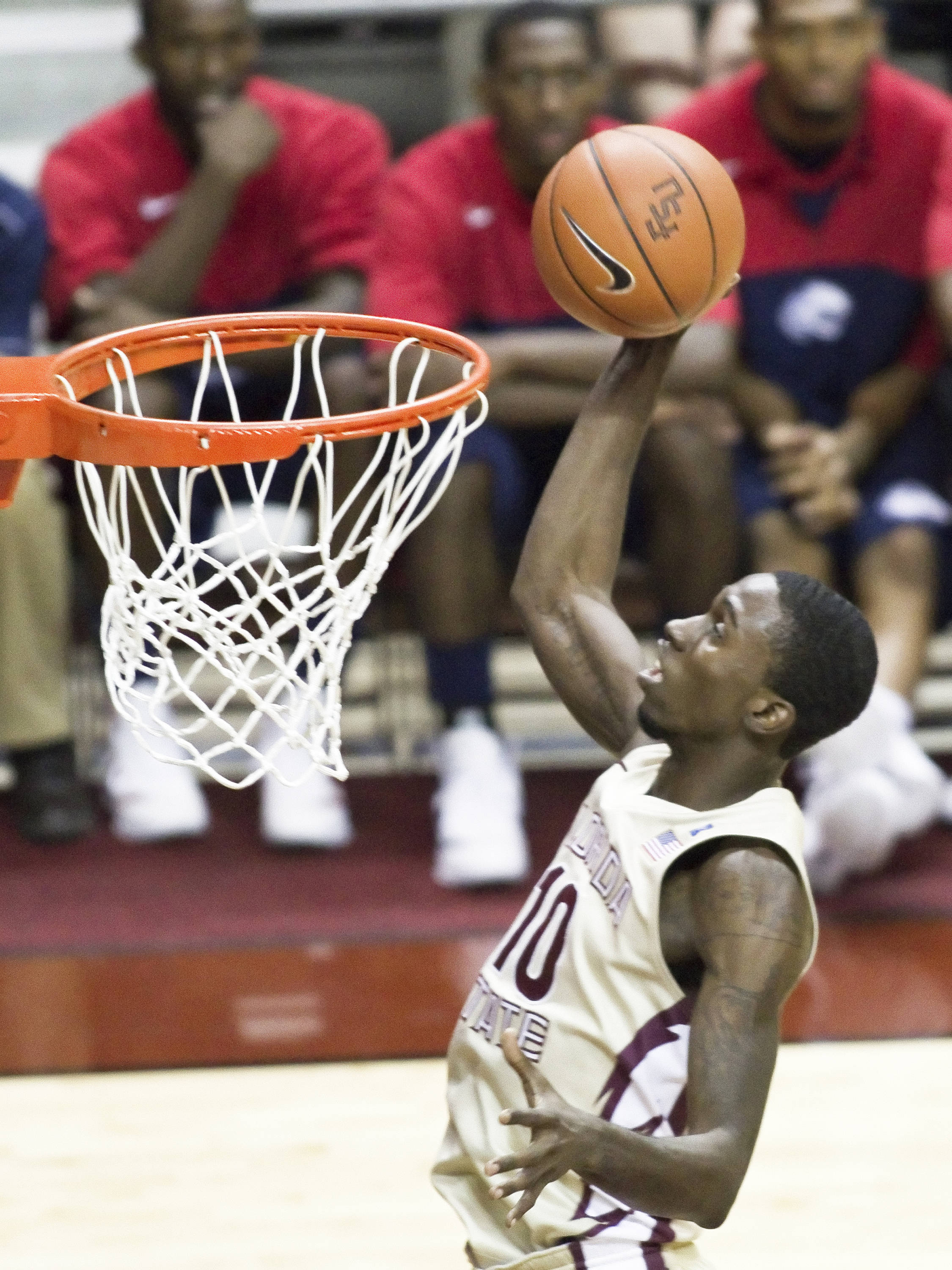 Okaro White (10), FSU vs So. Alabama, 11/20/2011