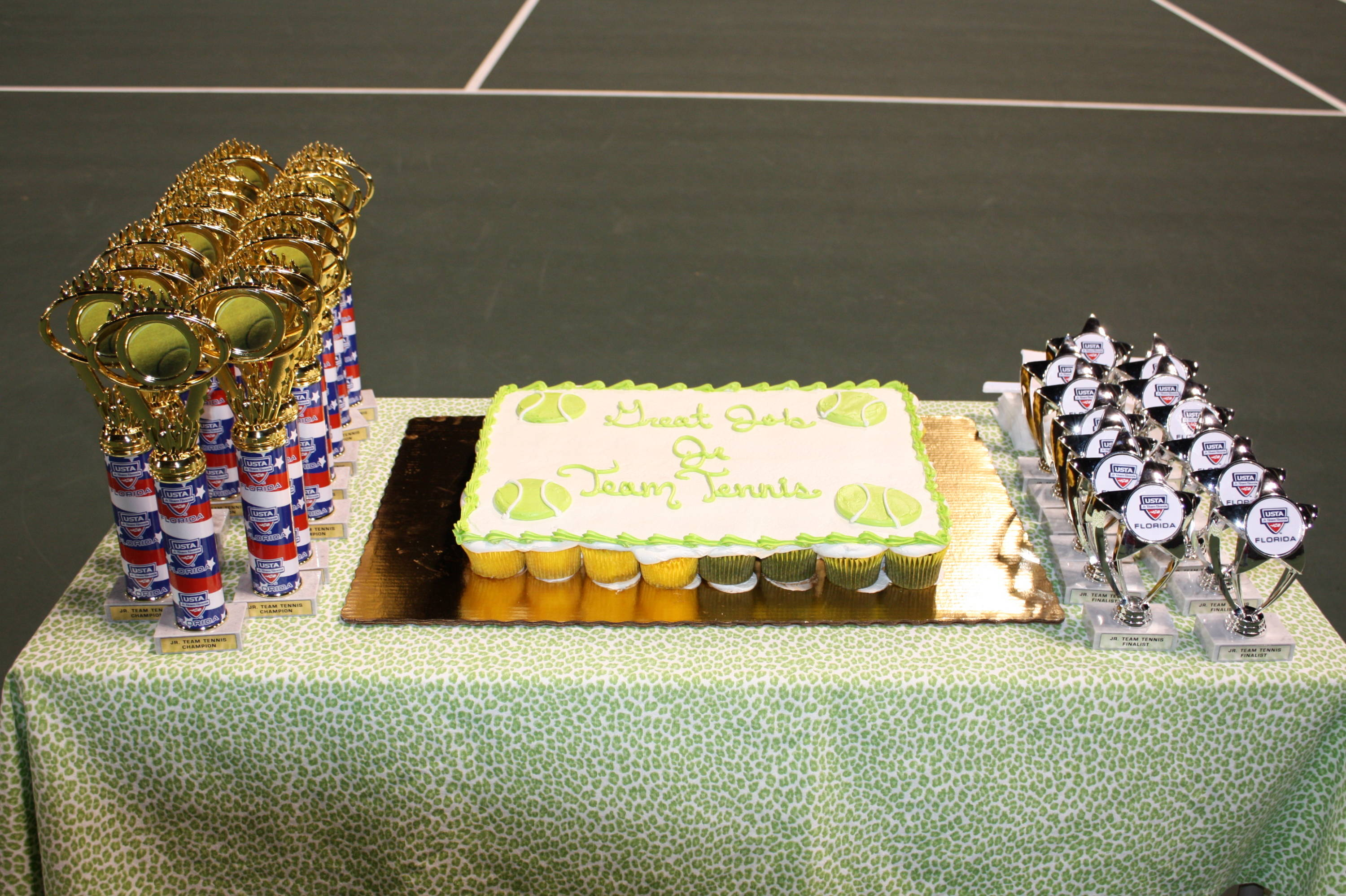 Trophies and cupcakes