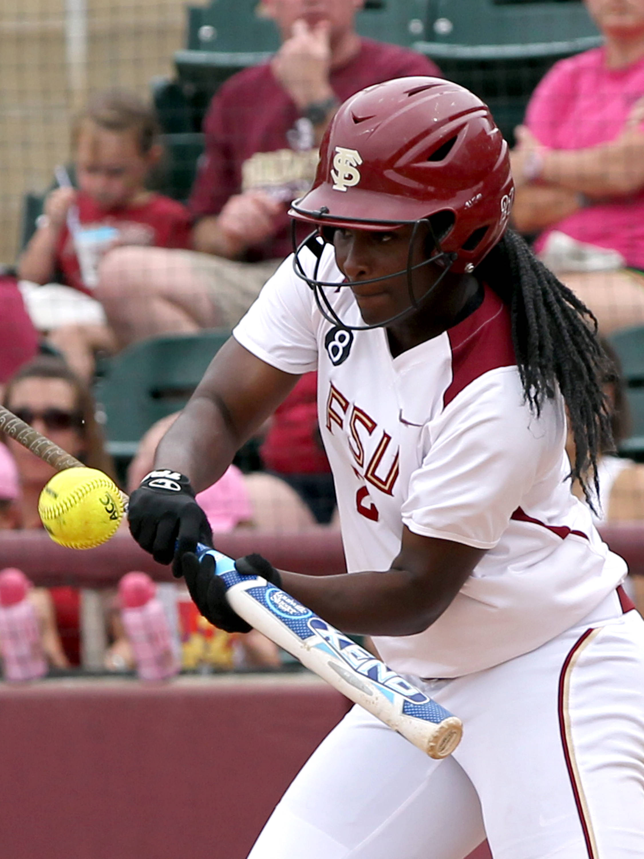 Morgan Bullock, FSU VS NC, ACC Championship Semifinals, Tallahassee, FL,  05/10/13 . (Photo by Steve Musco)