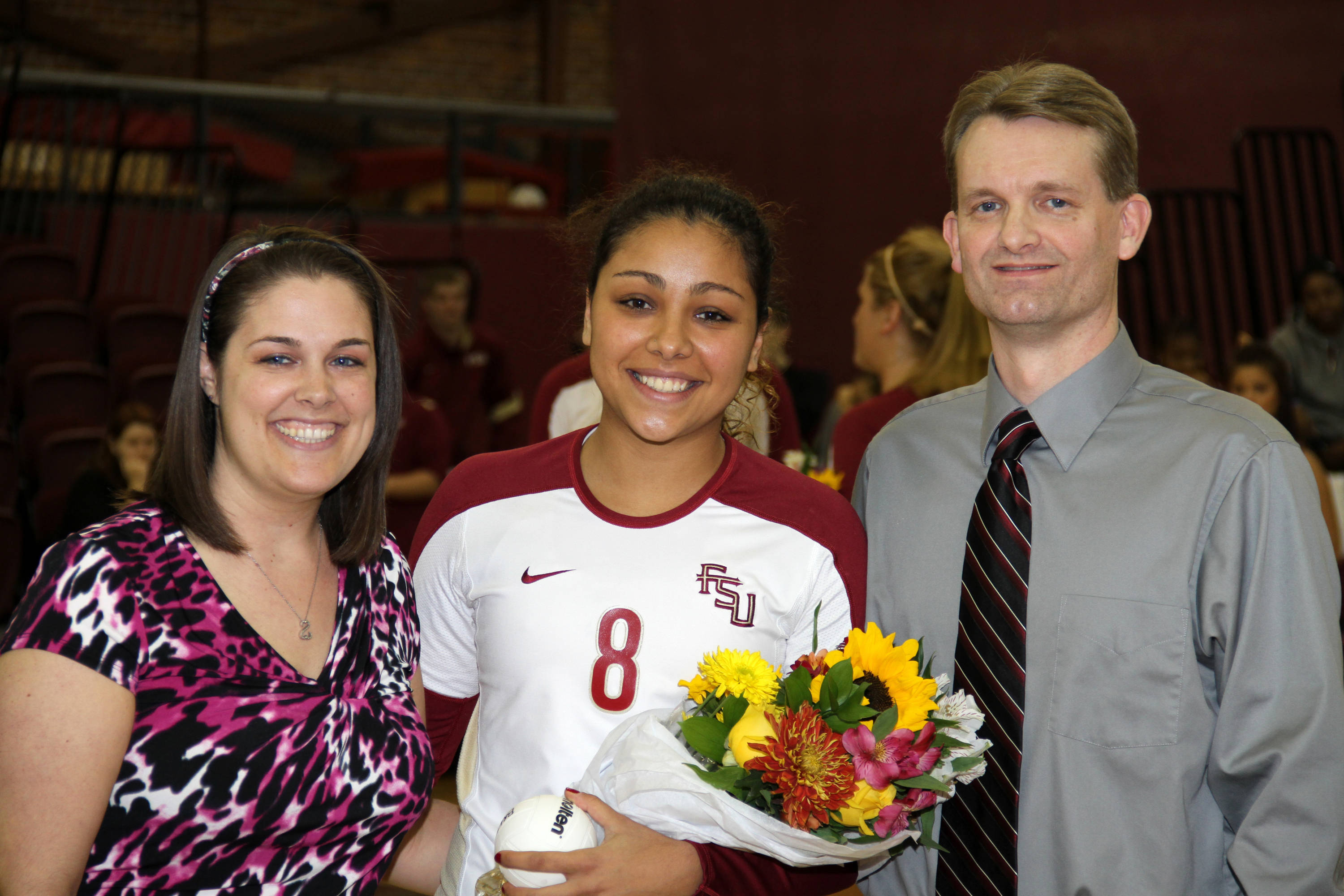 Volleyball Senior Day