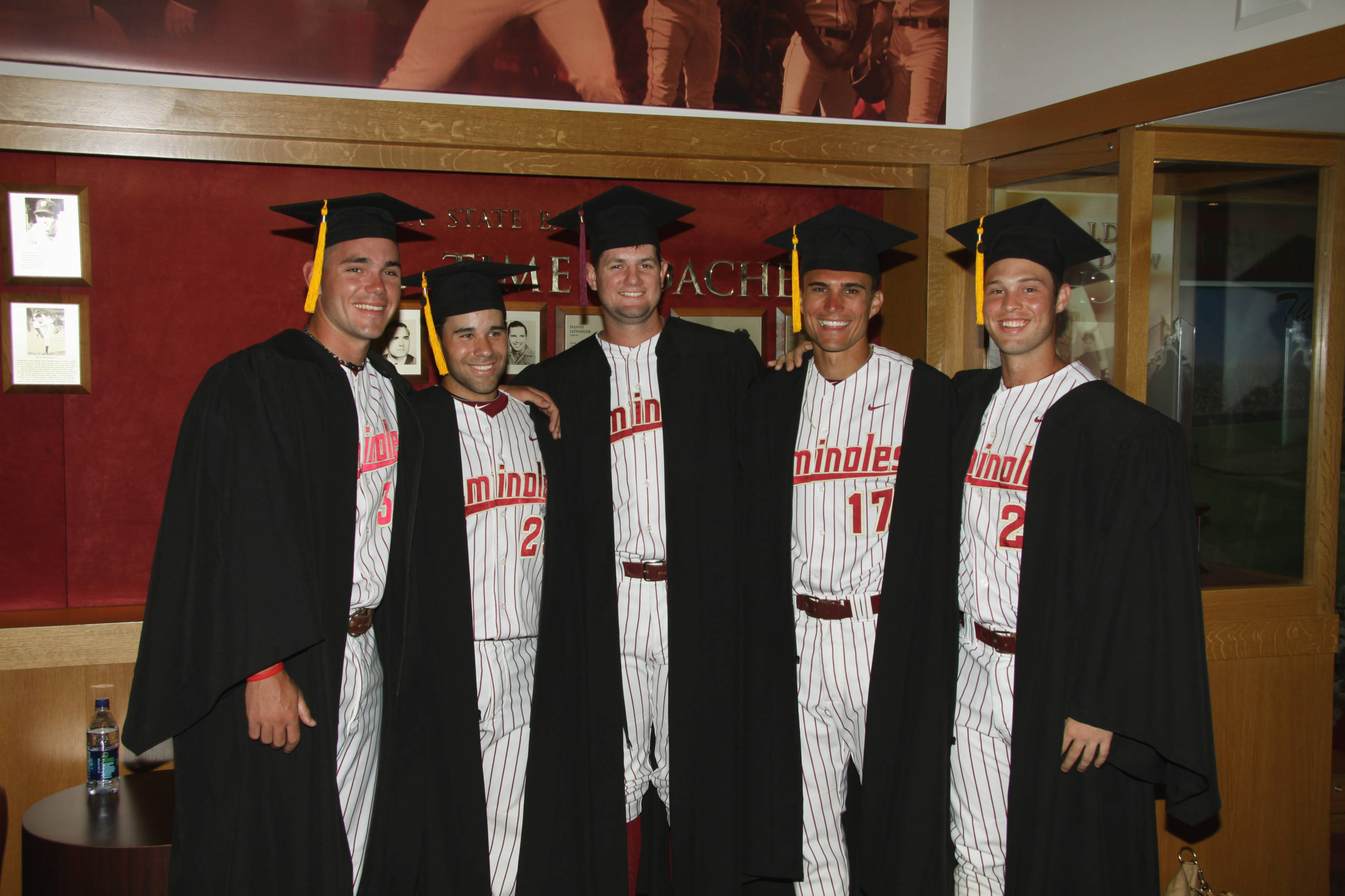 2011 Spring Graduation Ceremony held at Dick Howser Stadium to honor the graduating baseball seniors.