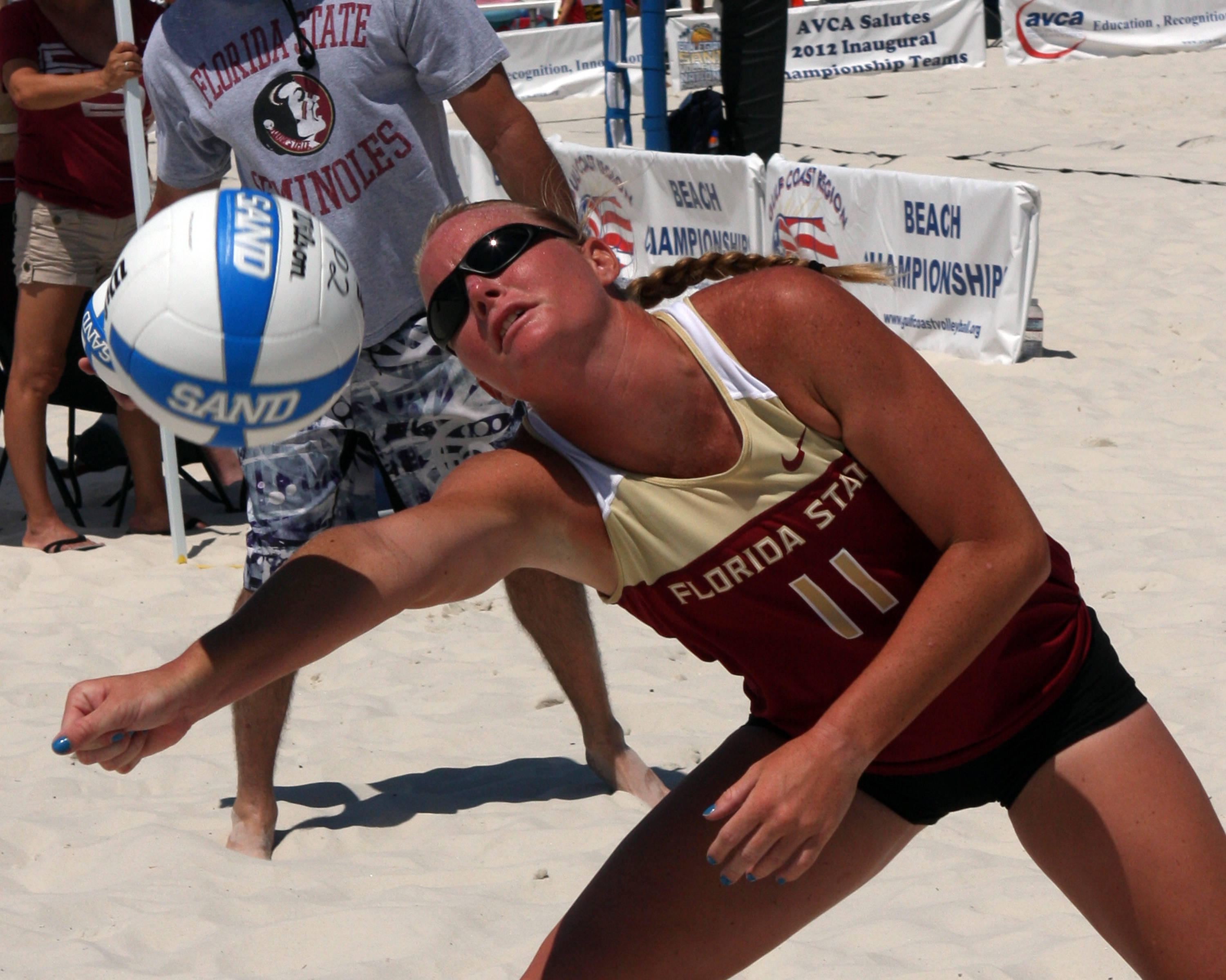 Caitlin Haworth, SAND VOLLEYBALL COLLEGIATE CHAMPIONSHIPS,  04/28/2012