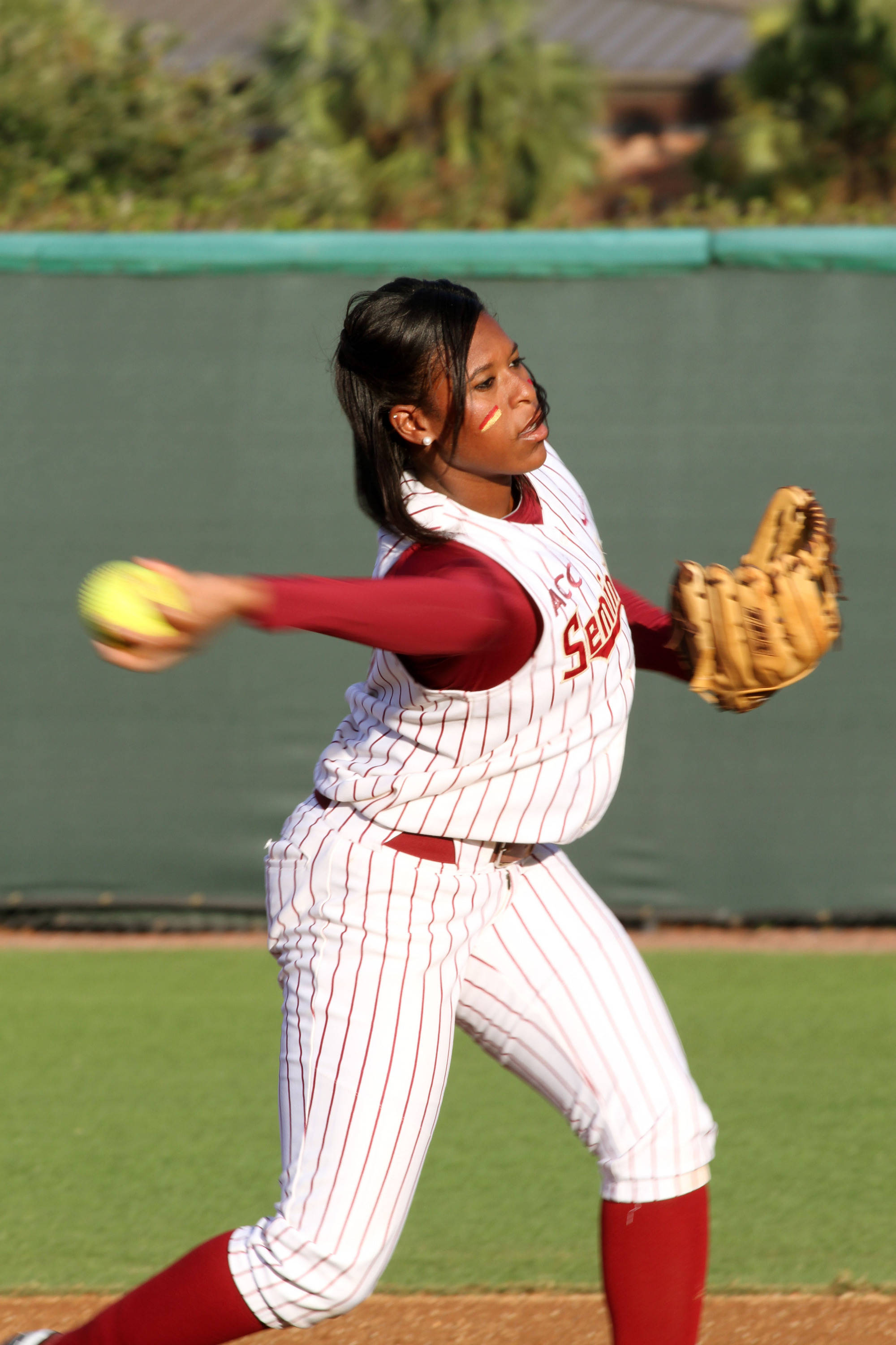 2012 FSU Softball Team Tiffani Brown (6)