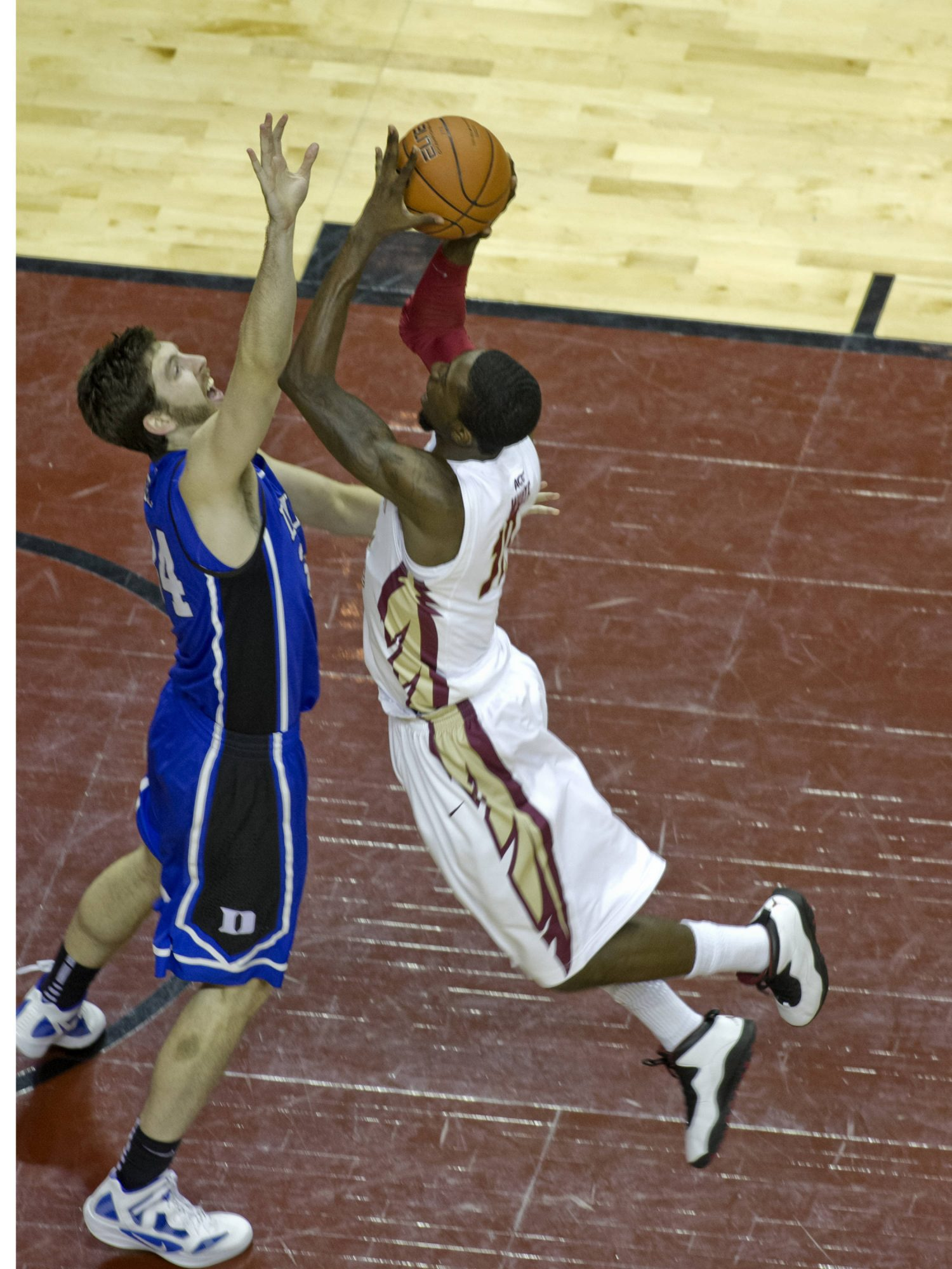 Okaro White (10), FSU vs Duke,  02/23/2012