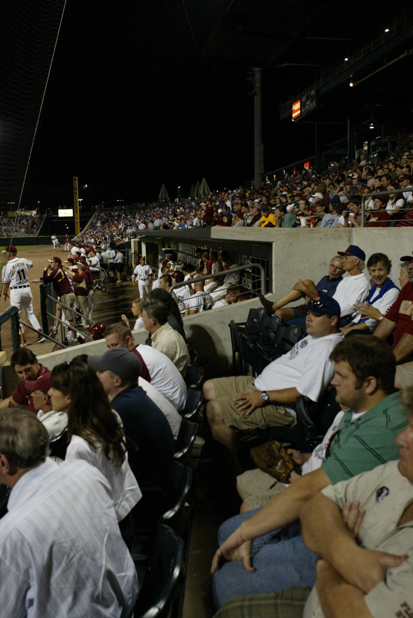 A look from the stands at the Baseball Grounds of Jacksonville