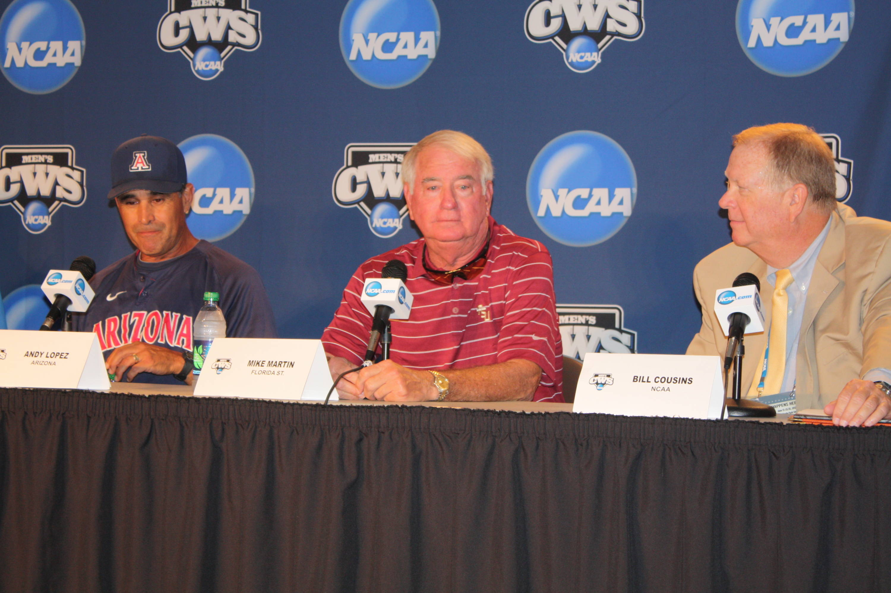 CWS Coaches Press Conference