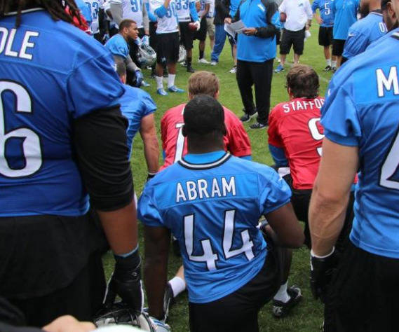 Chad Abram, courtesy of DetroitLions.com