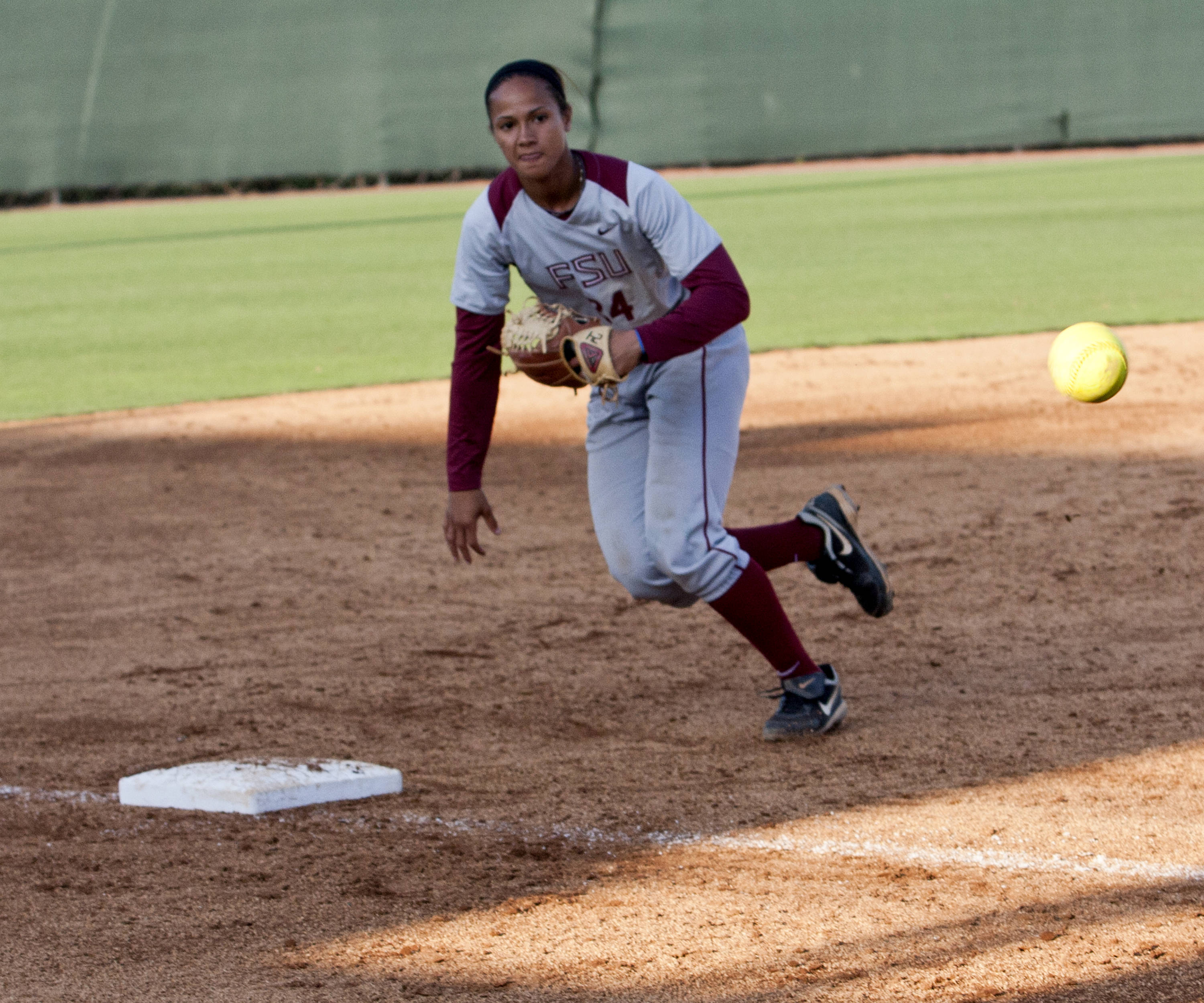 Briana Hamilton, FSU Softball vs FGCU 1,  03/29/2012