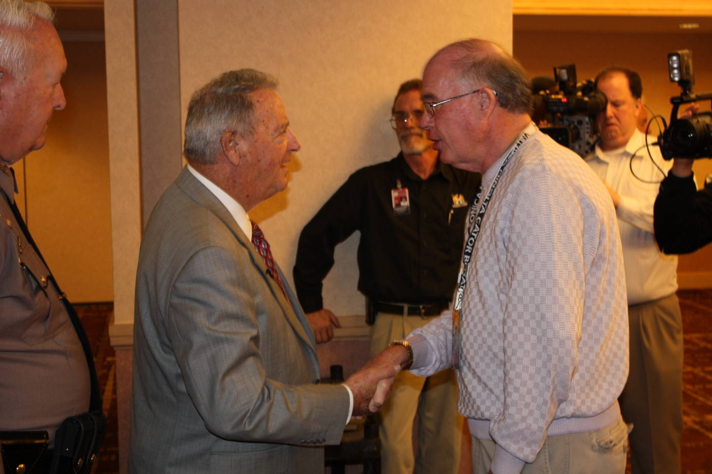 FSU head coach Bobby Bowden at the Gator Bowl coaches and players press conference at the Hyatt in Jacksonville.