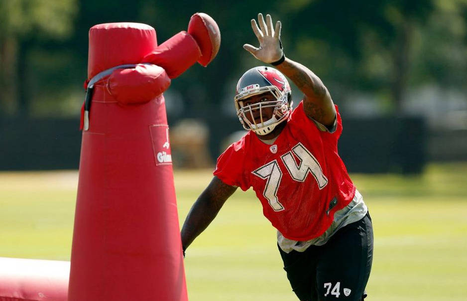 Everett Dawkins, courtesy of Buccaneers.com