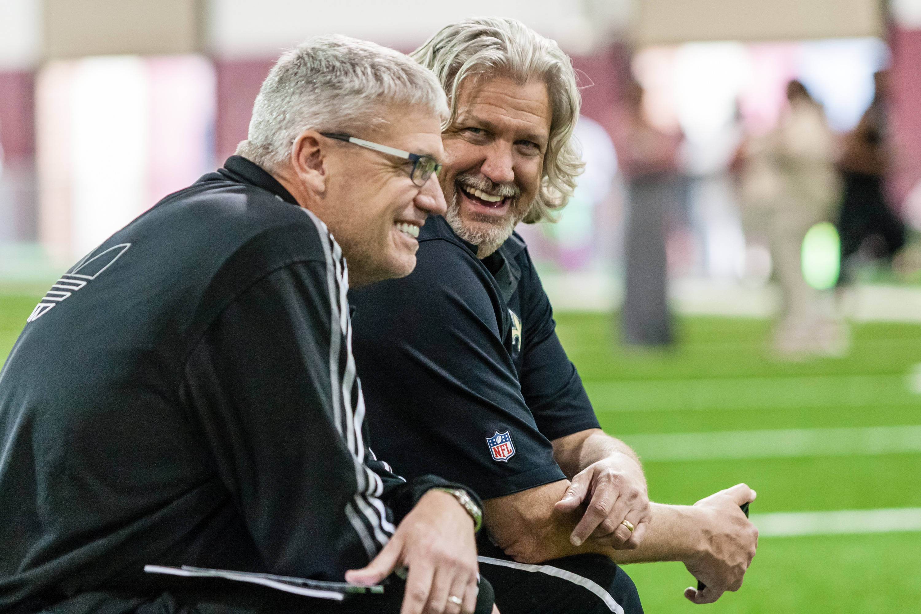 New York Jets coach Rex Ryan and New Orleans Saints defensive coordinator Rob Ryan