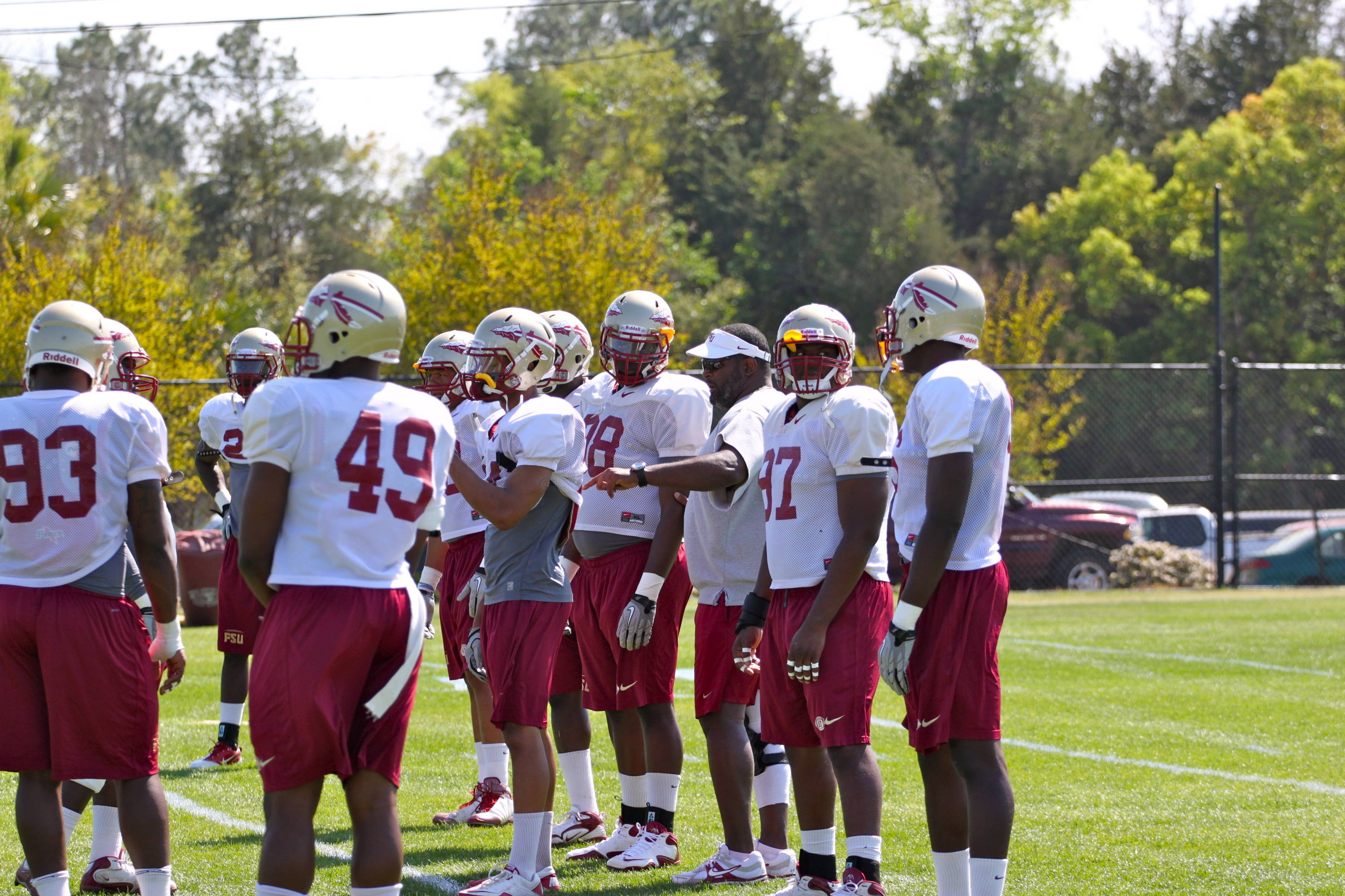 Seminole defensive line