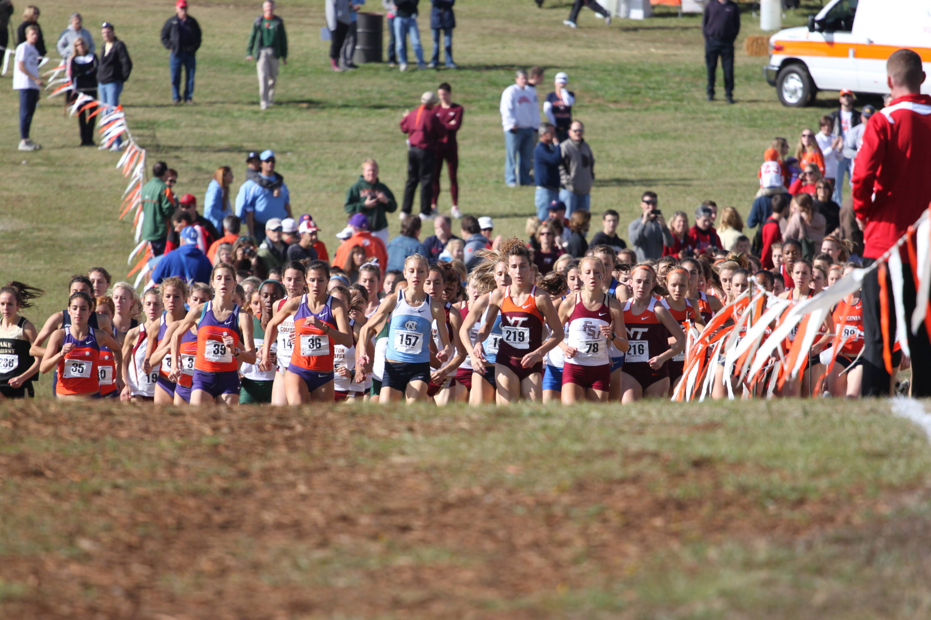 ACC championship charge the hill