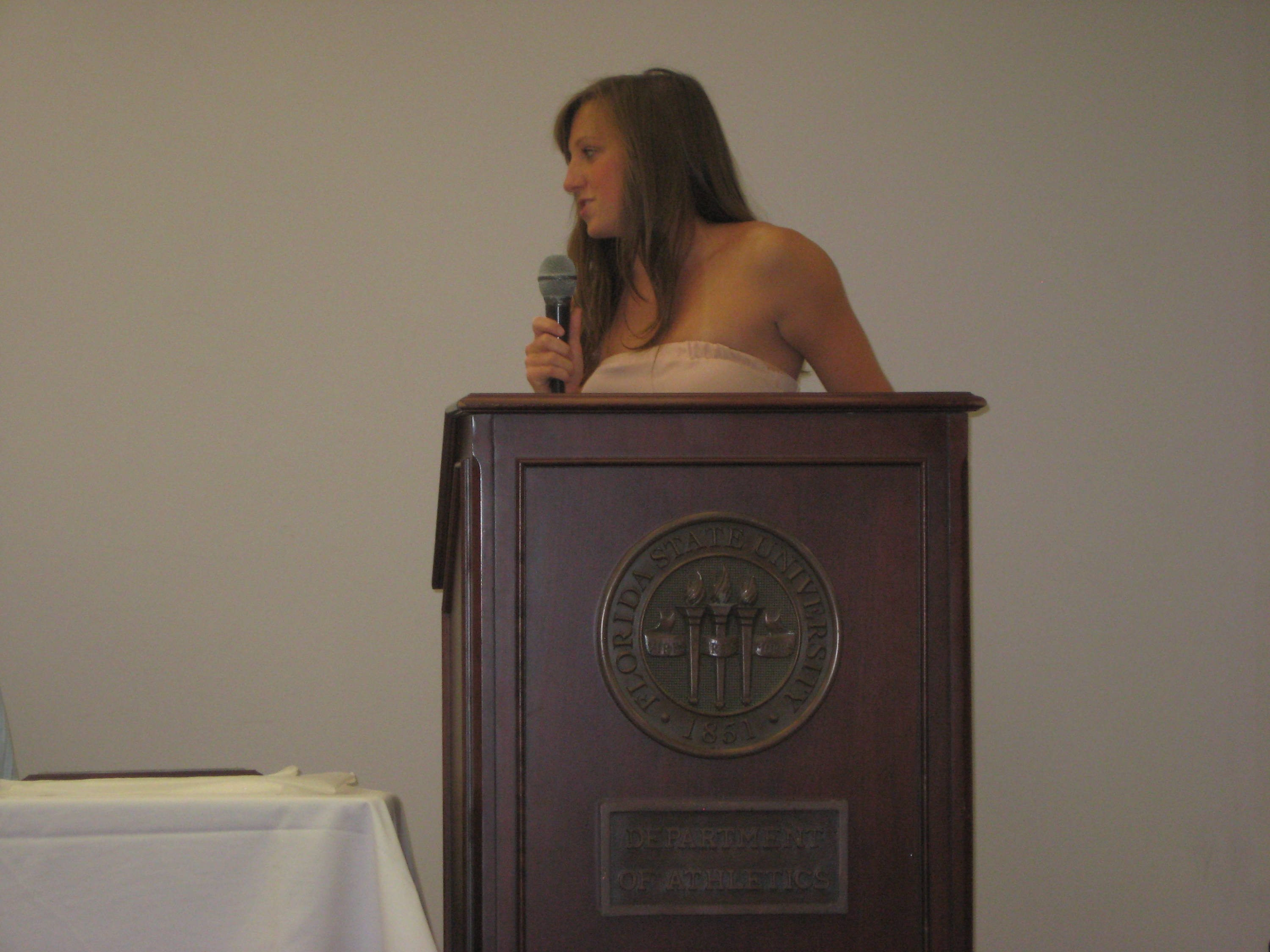 2011 Swimming and Diving Banquet: C.J. Hendry