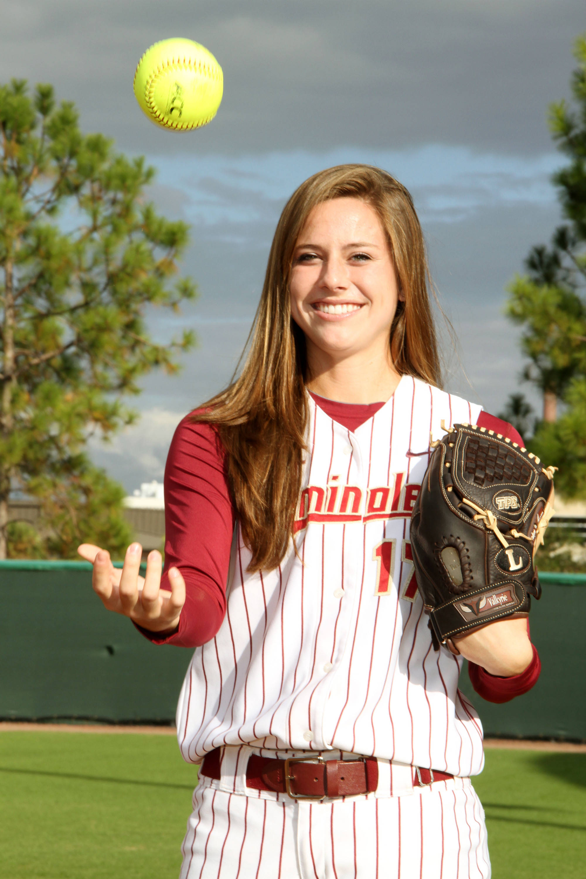 2012 FSU Softball Team Bailey Schinella (27)