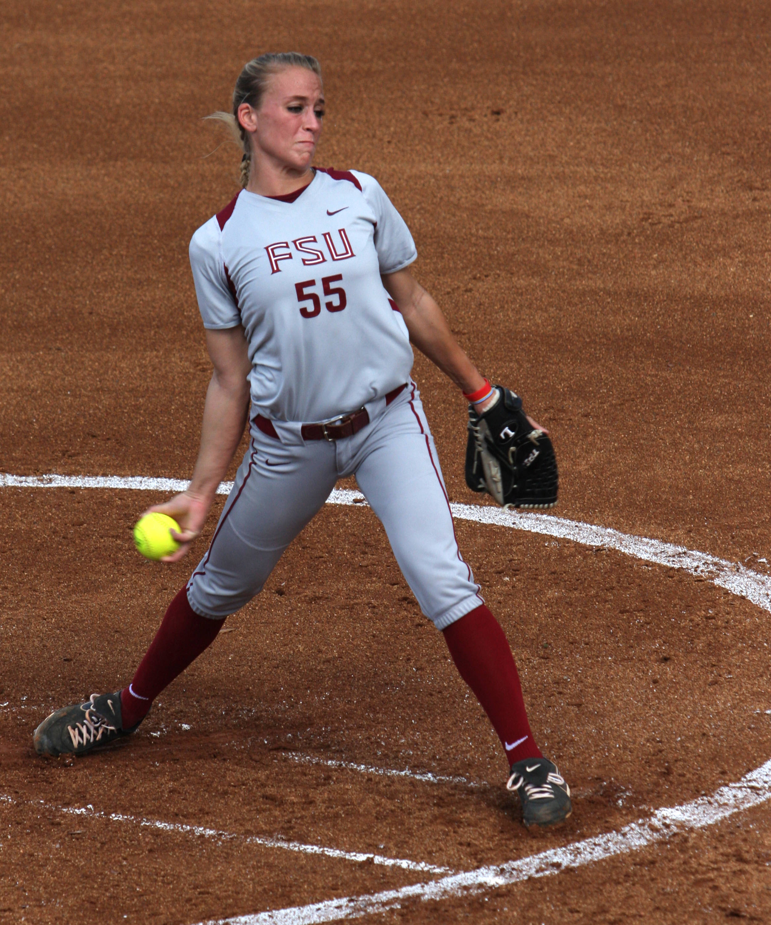 Monica Perry, FSU Softball vs FGCU 1,  03/29/2012