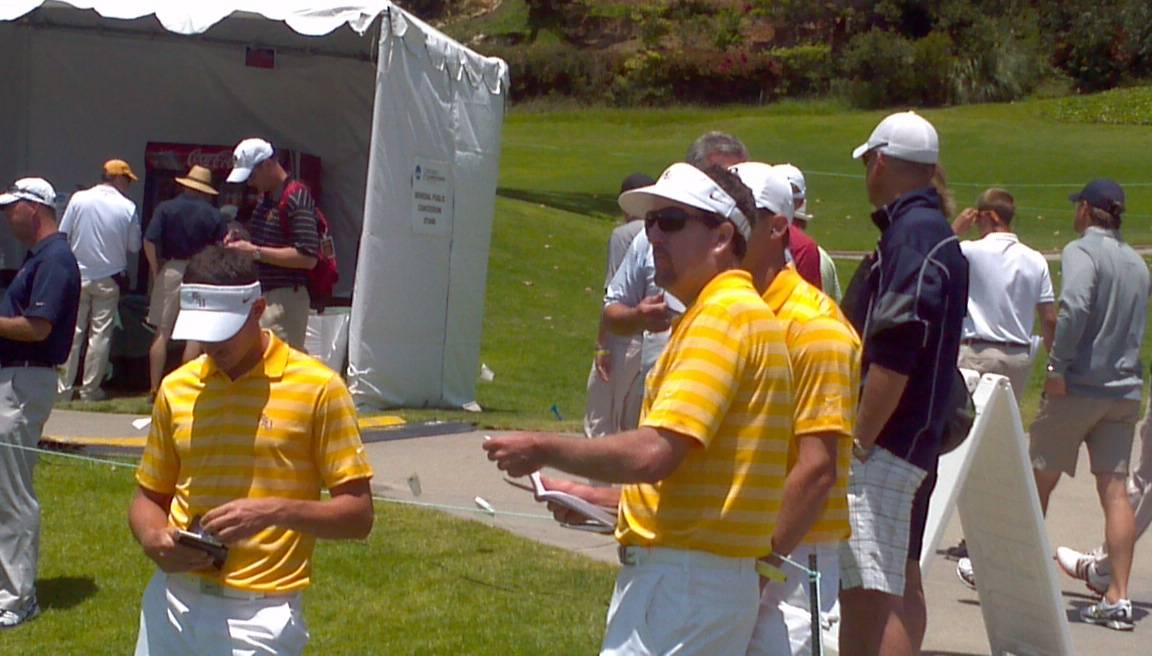 2012 NCAA Men's Golf Championship -- Round 2 Preparation