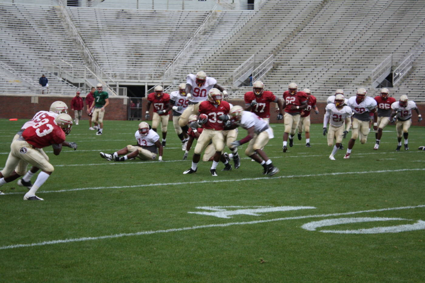 Scrimmage 3_2009