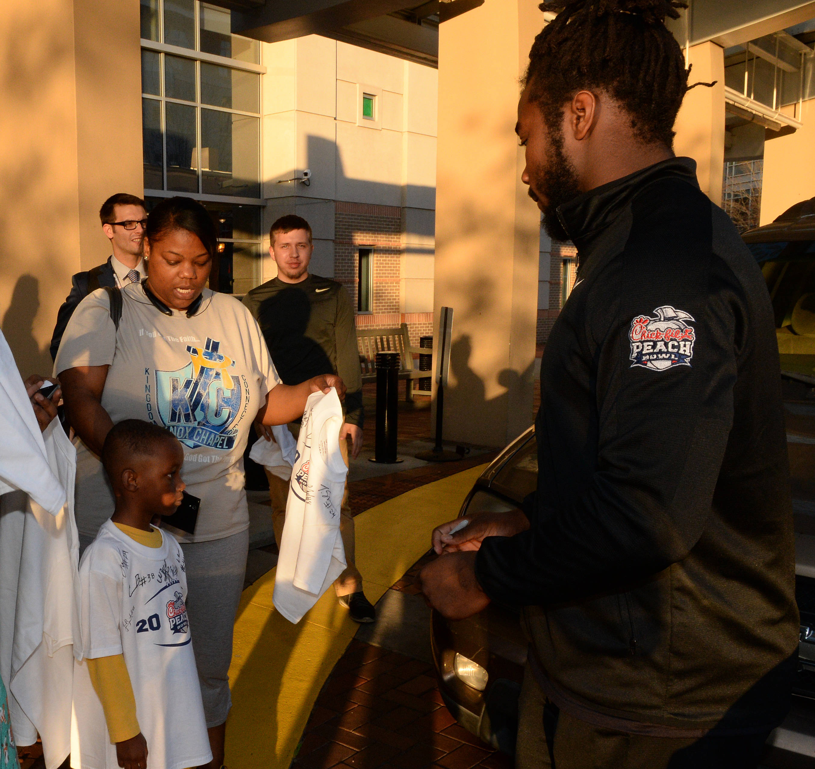 Chick-Fil-A Peach Bowl Hospital Visit