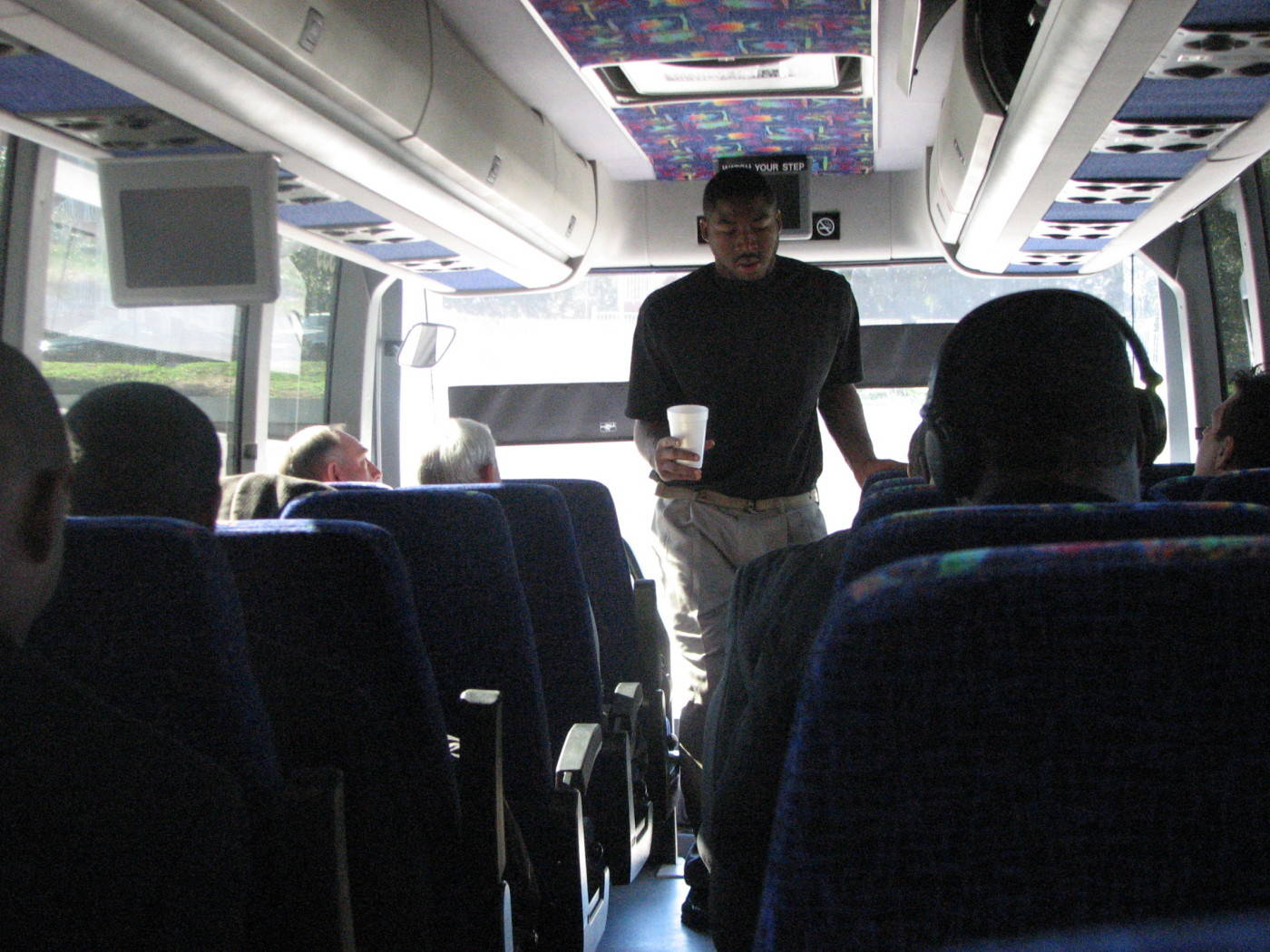 Bus to Wake Forest