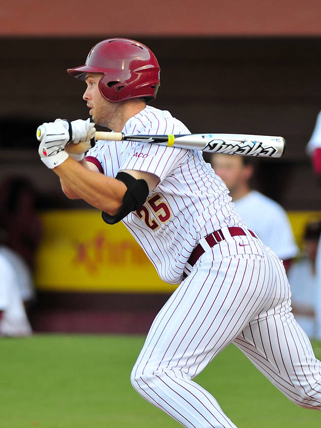 Mike McGee picked up a pair of hits and drove in two runs for the 'Noles.