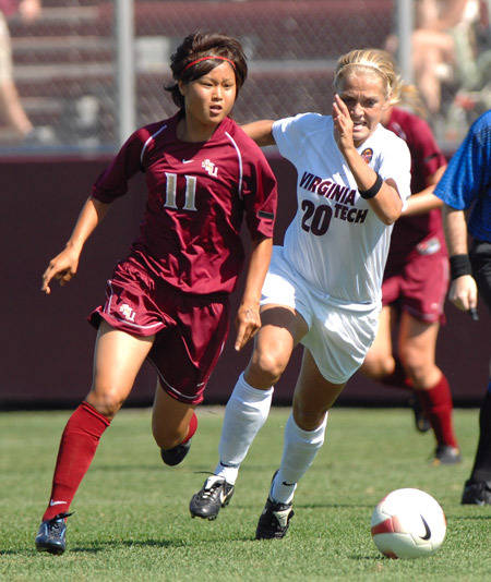Mami Yamaguchi scores the lone goal, the game-winner, in the 75th minute.