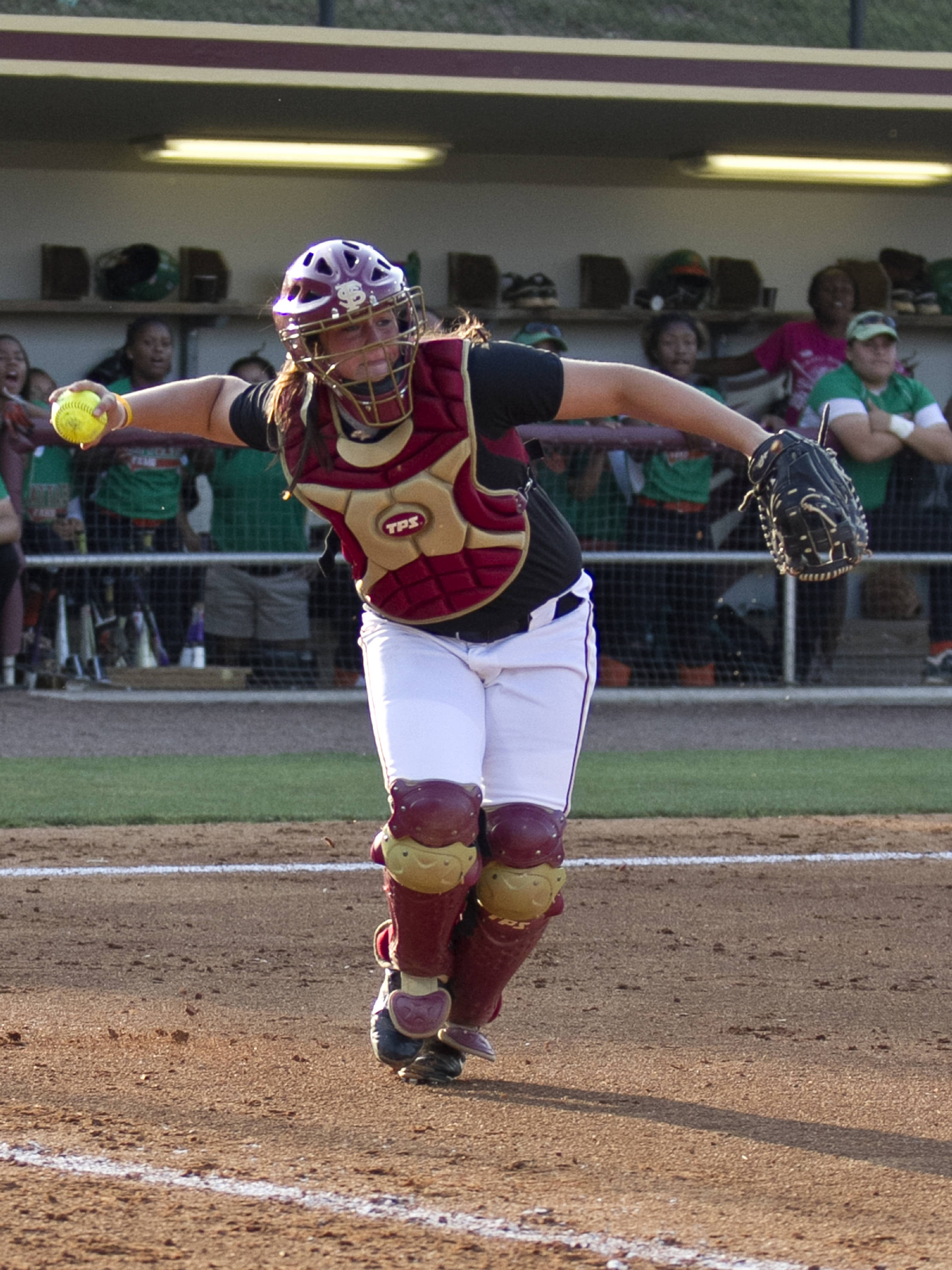 Erika Leonard, FSU Softball vs FAMU  04/10/2012