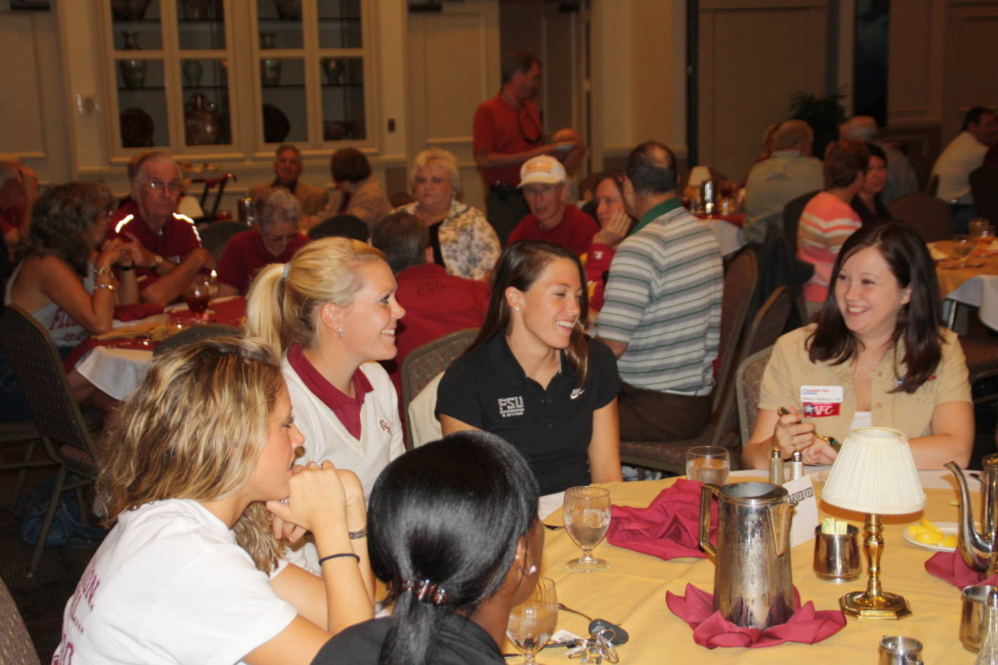 Student-Athletes Attend The Bobby Bowden Luncheon