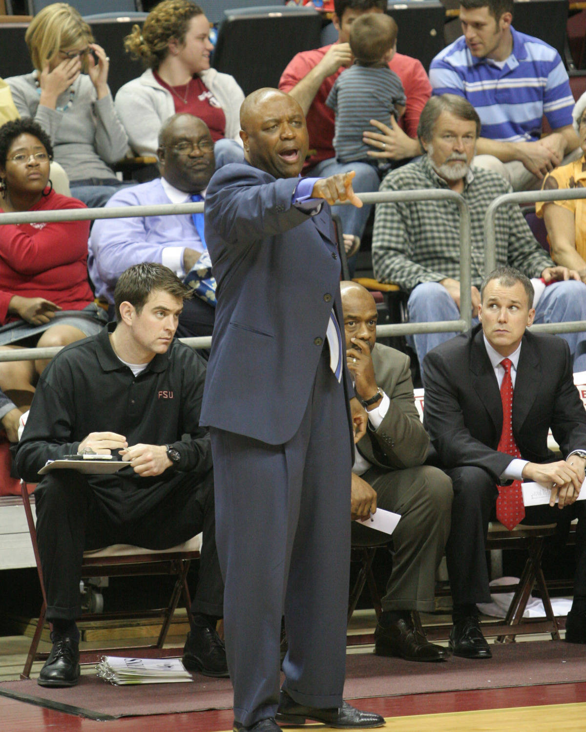 March 13, 2007: Leonard Hamilton will lead his Seminoles against Toledo in the first#$%^round of the NIT on march 13 at 6 p.m.