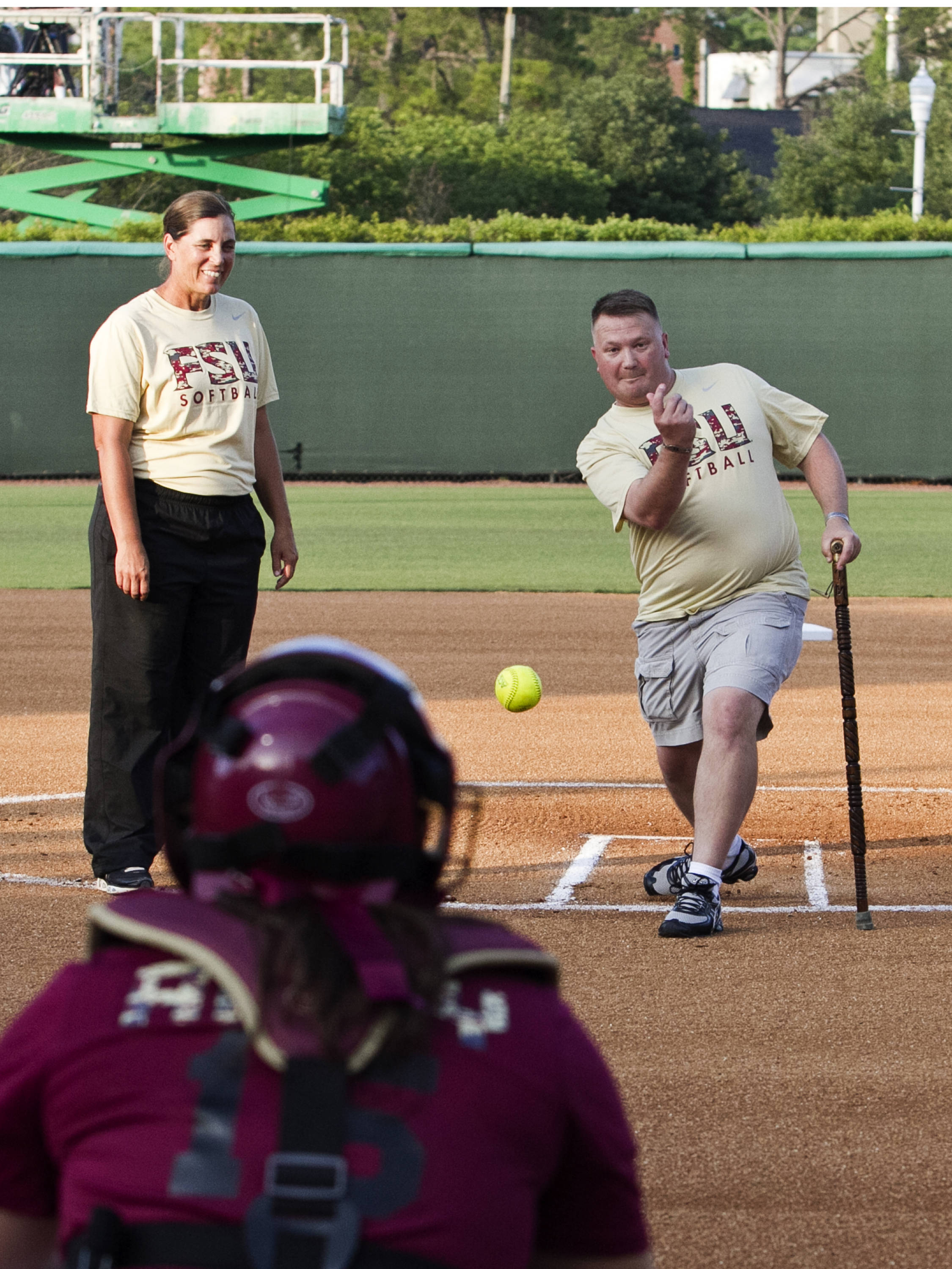 FSU Softball vs NC,  04/02/2012