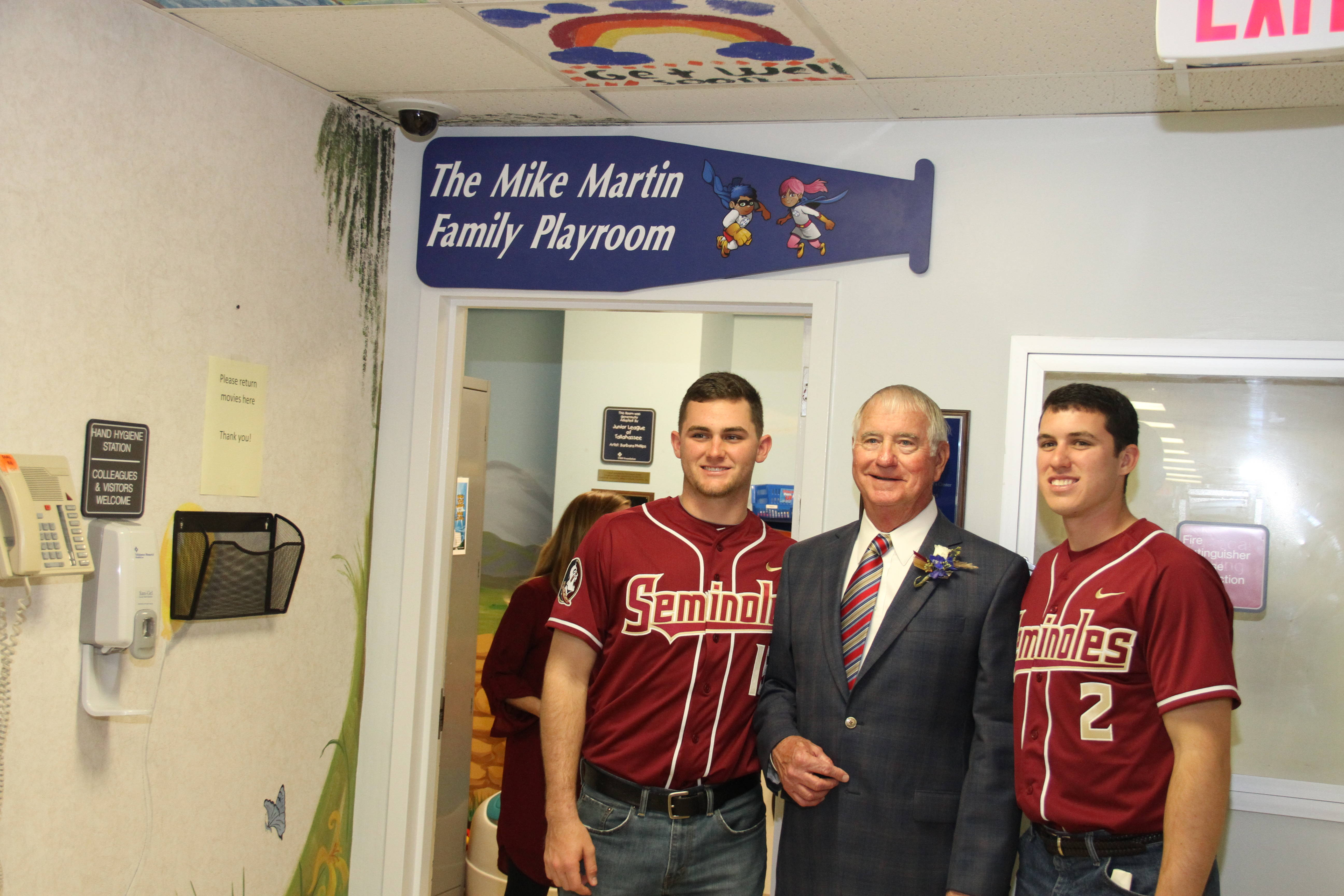 Martin Family Children's Playroom Dedication at TMH